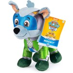 Spin Master Paw Patrol Knuffel Mighty Pup Rocky 20 cm