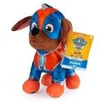 Spin Master Paw Patrol Knuffel Mighty Pup Zuma 20 cm