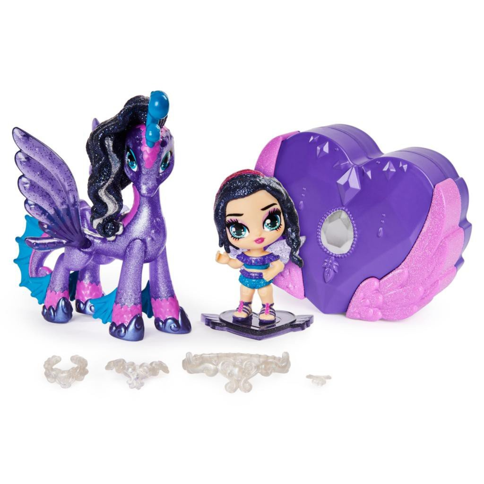 Spin Master Hatchimals Pixies Riders - Black Glitter Lilly