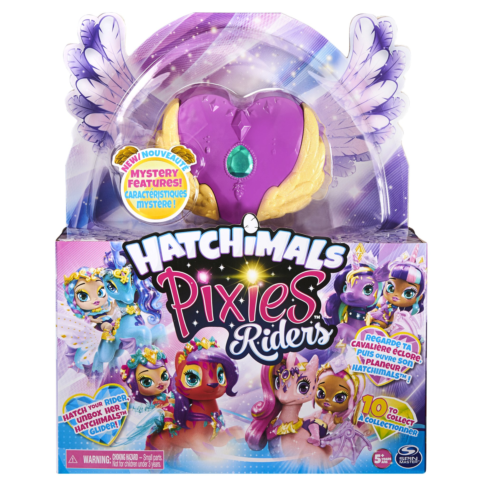 Spin Master Hatchimals Pixies Riders - Swandling