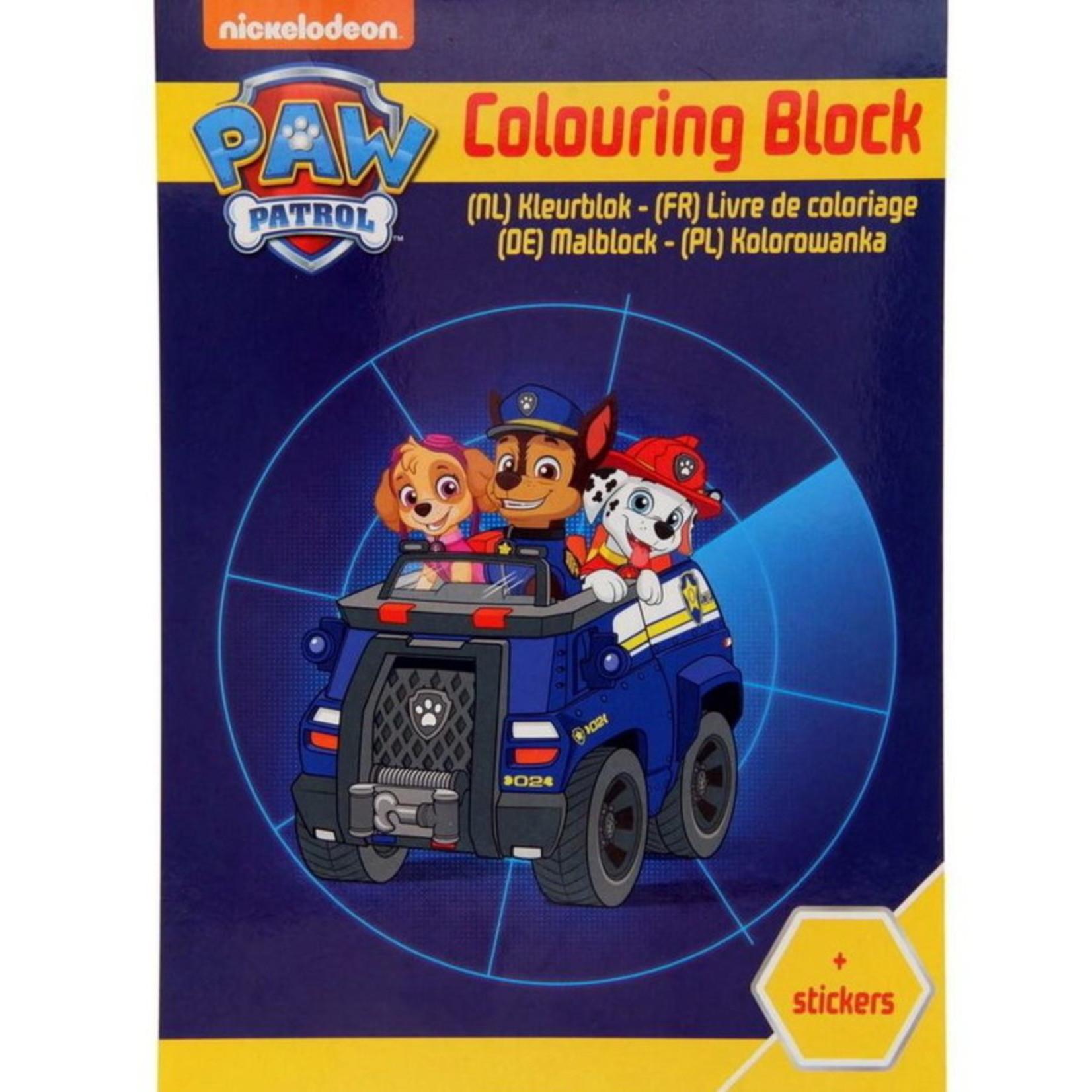 Deltas Paw Patrol Kleurboek met Stickers