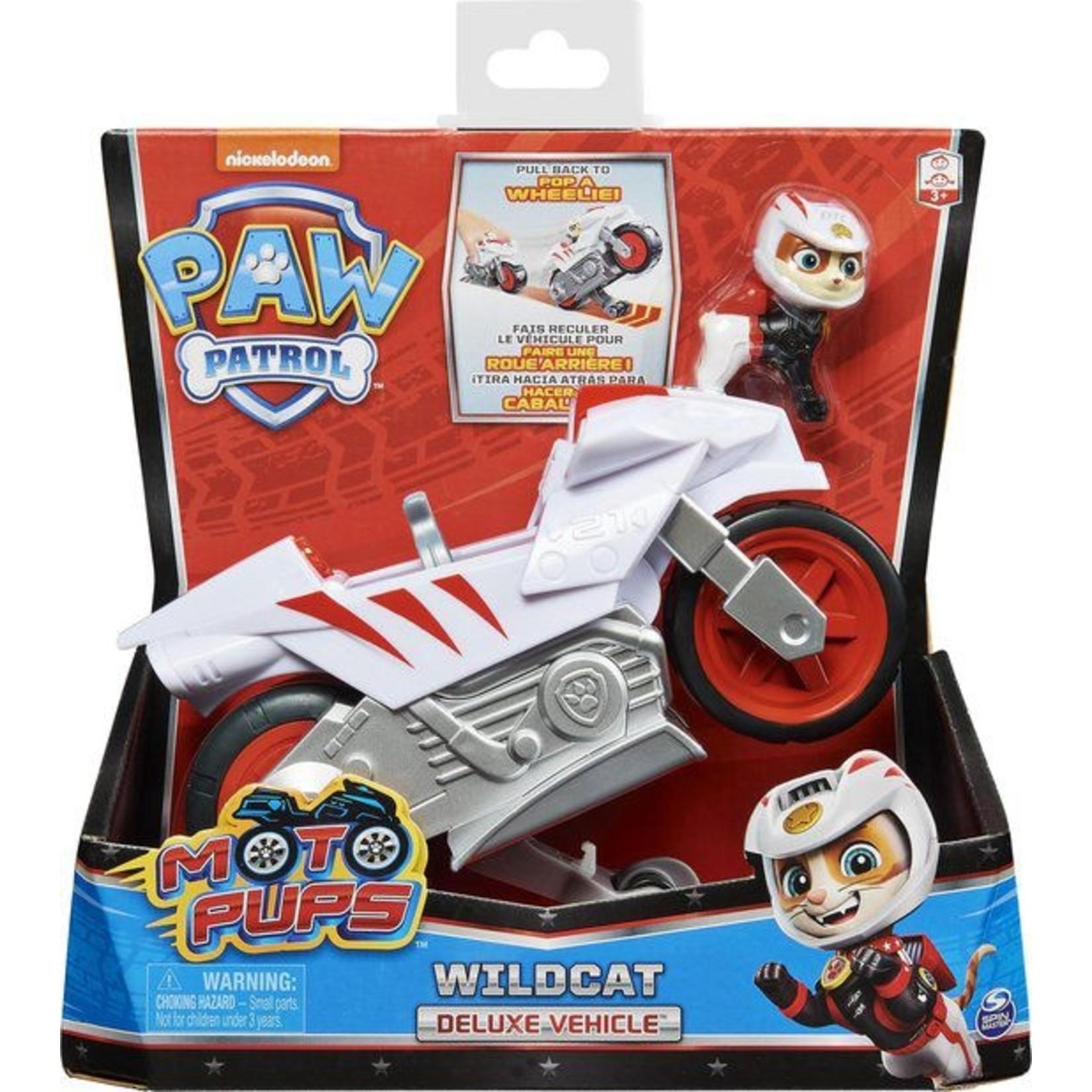Spin Master Paw Patrol Moto Themed Wildcat