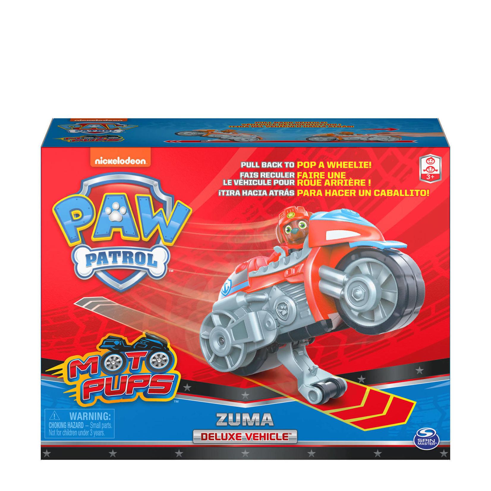Spin Master Paw Patrol Moto Themed Zuma