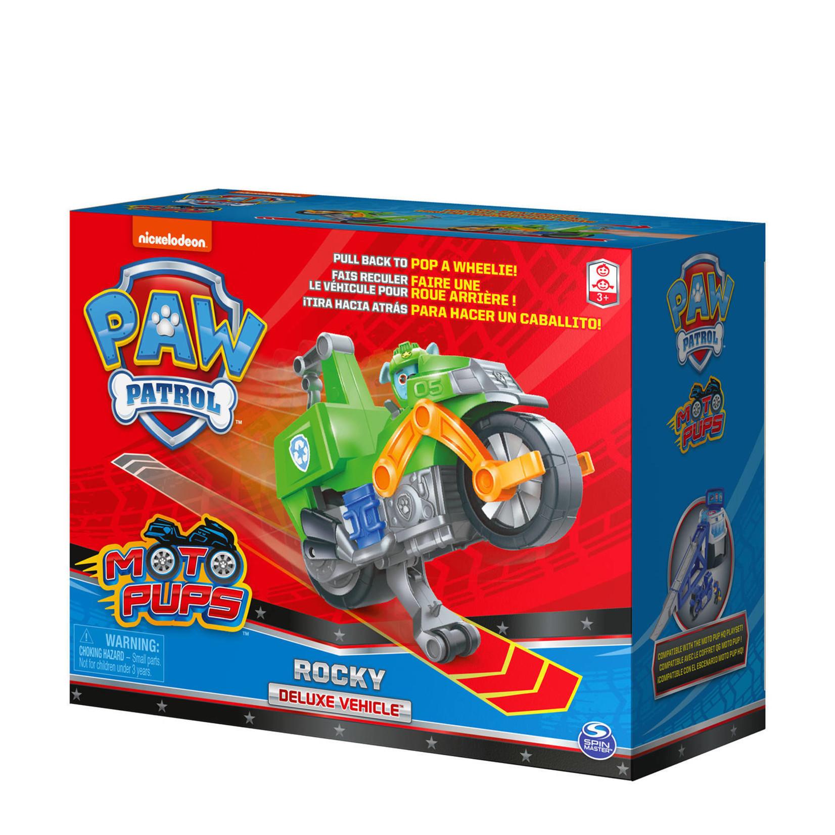 Spin Master Paw Patrol Moto Themed Rocky