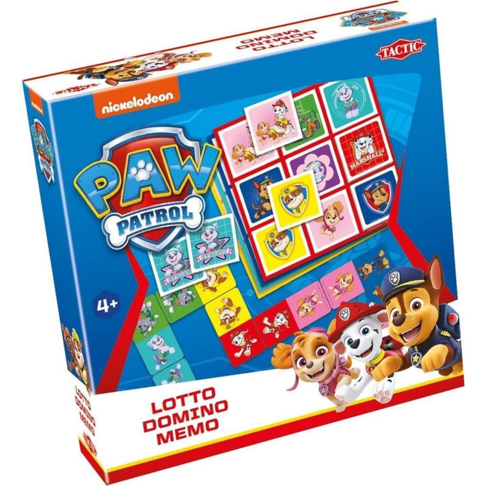 Paw Patrol spel 3 in 1