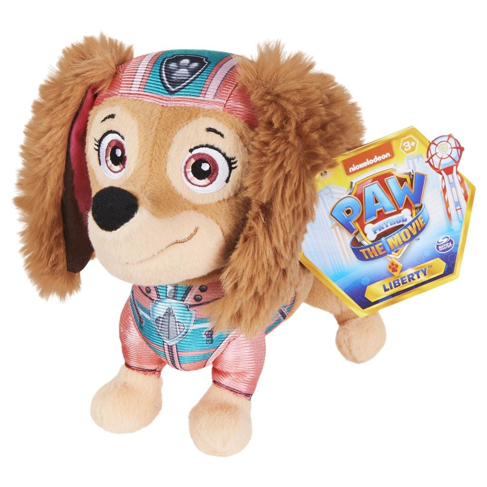 Spin Master Paw Patrol The Movie Knuffel  Liberty 20 cm