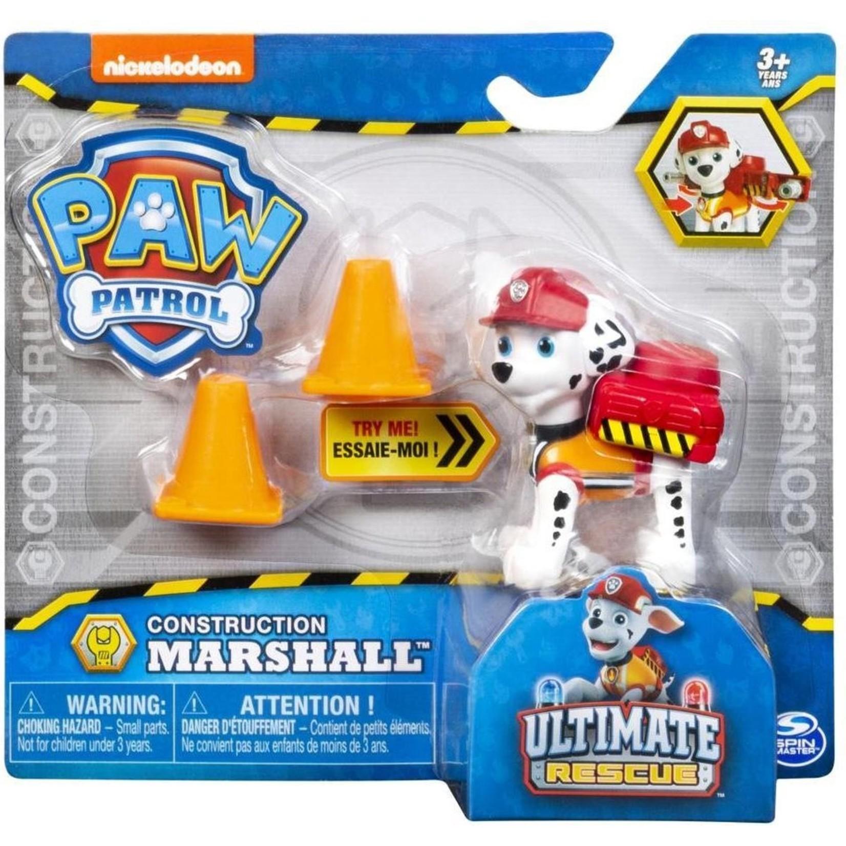 Spin Master Paw Patrol Construction Marshall