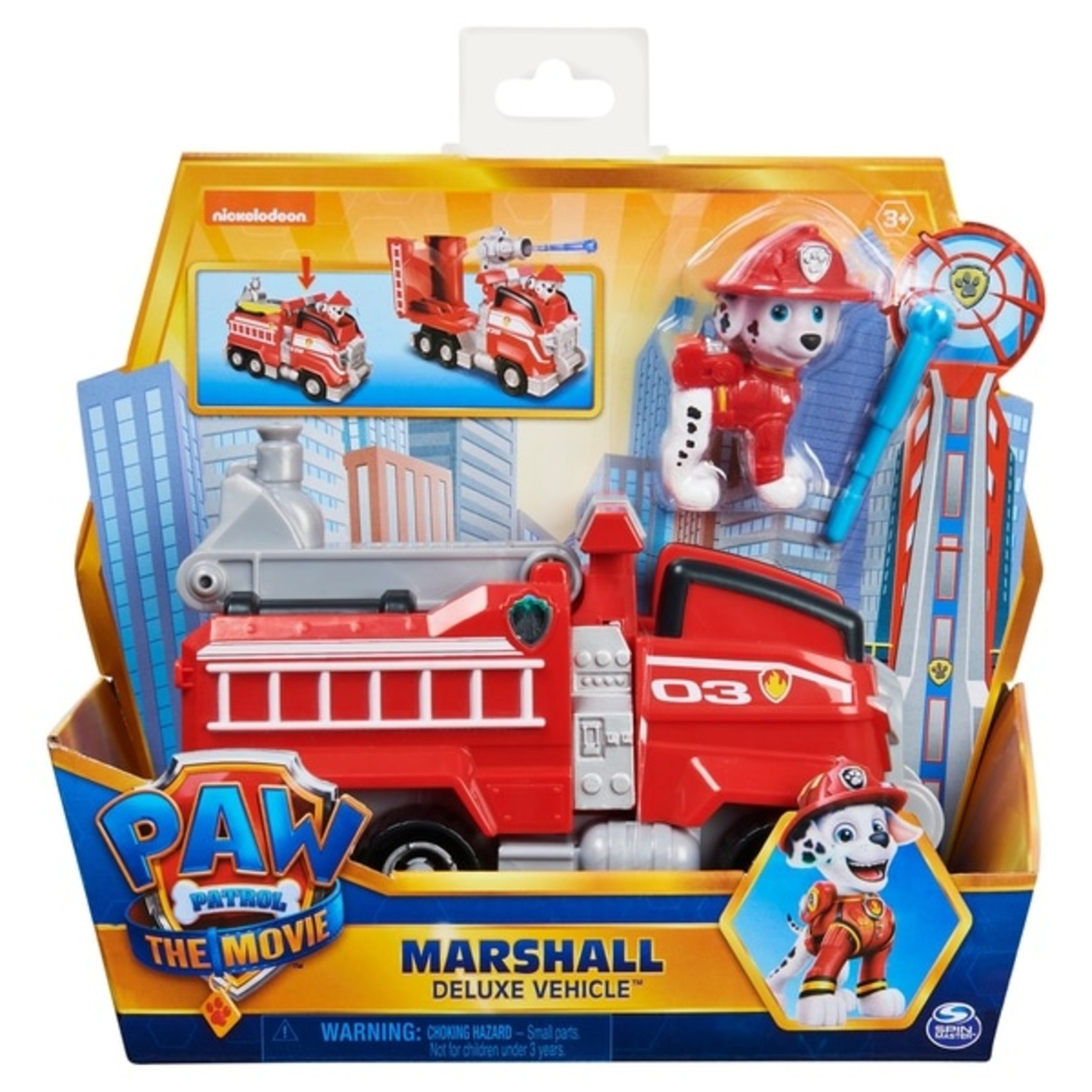Spin Master Paw Patrol The Movie Marshall's Brandweerwagen