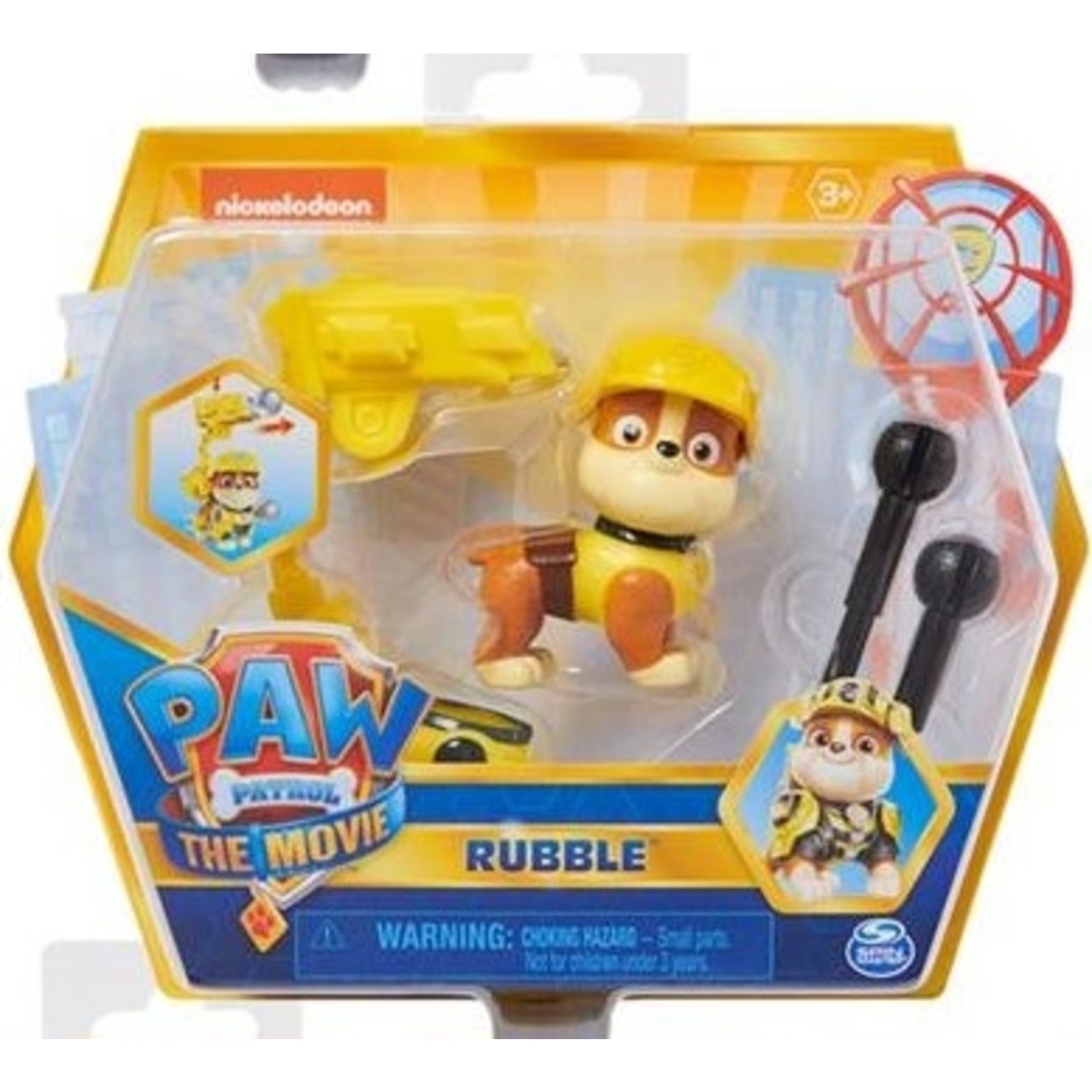 Spin Master Paw Patrol The Movie Figuur Rubble