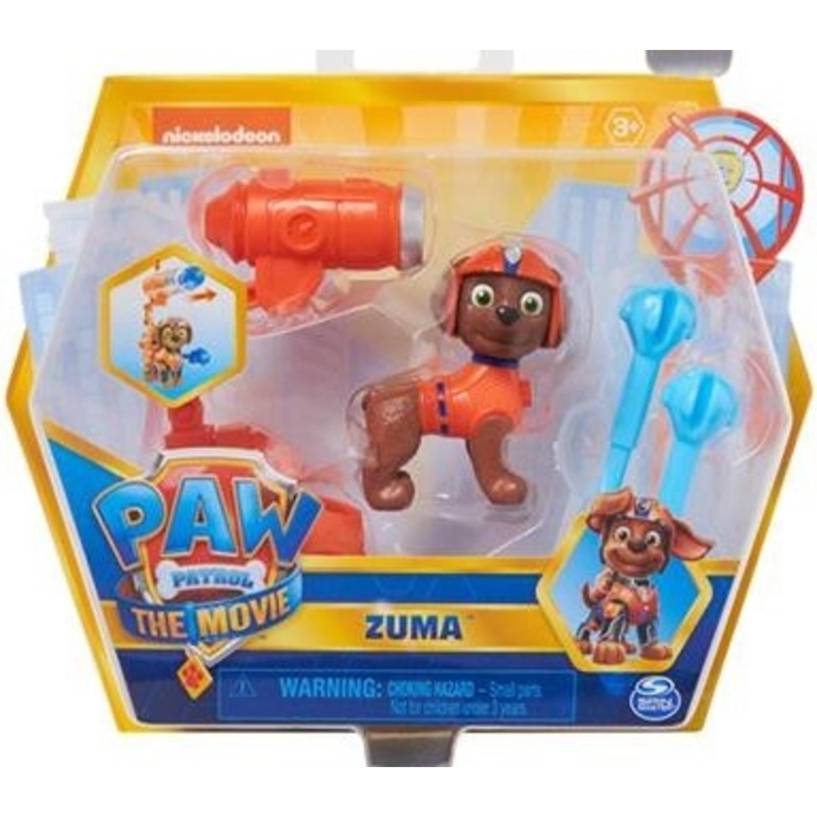 Spin Master Paw Patrol The Movie Figuur Zuma