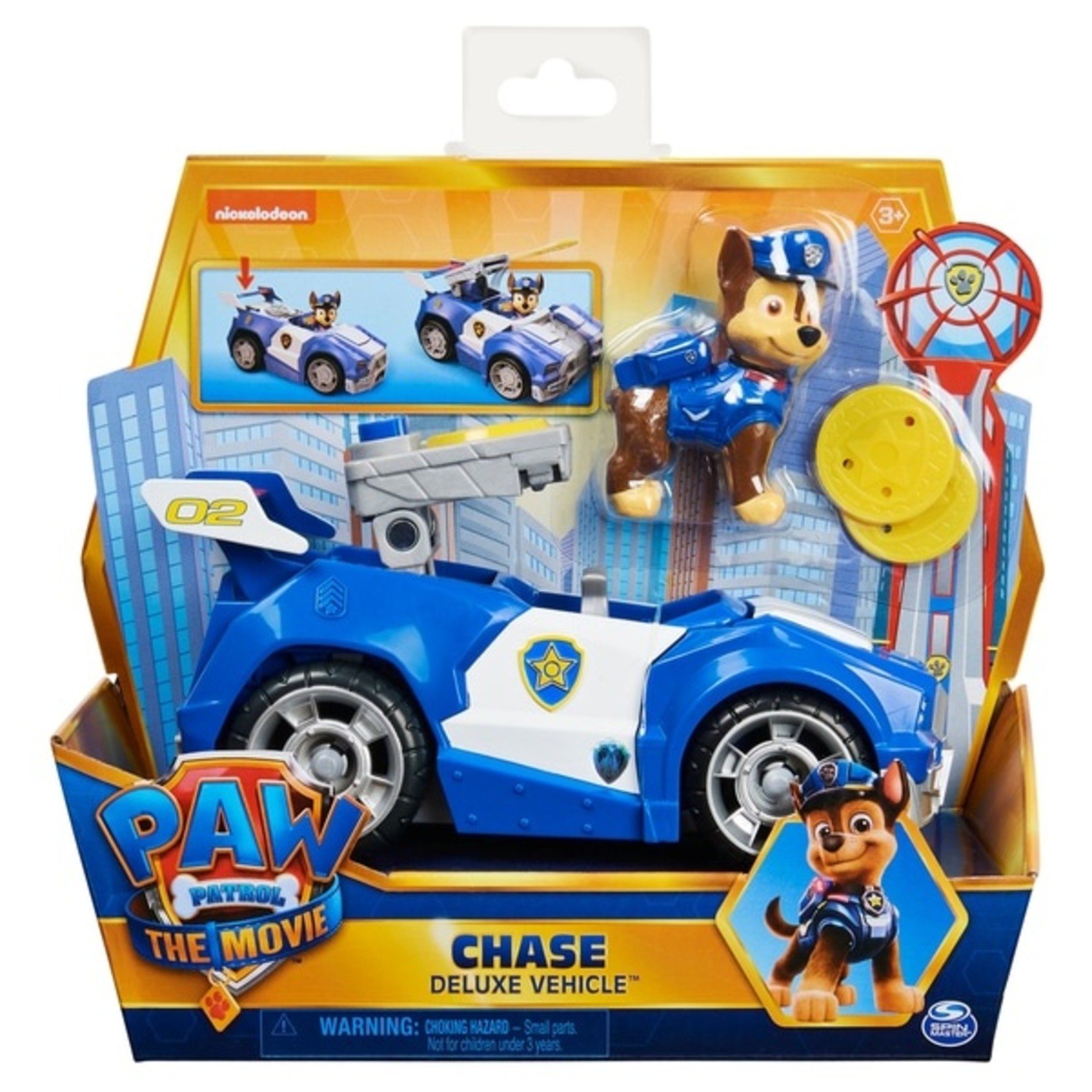 Spin Master Paw Patrol The Movie Chase's Politieauto