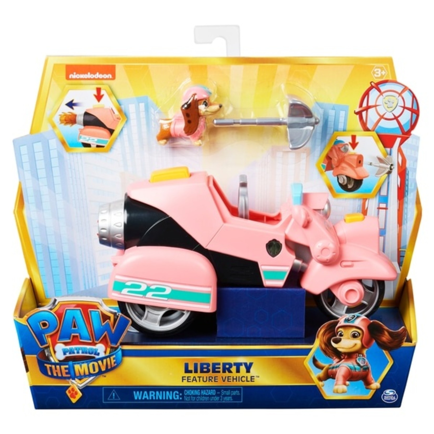 Spin Master Paw Patrol The Movie Liberty's Scooter