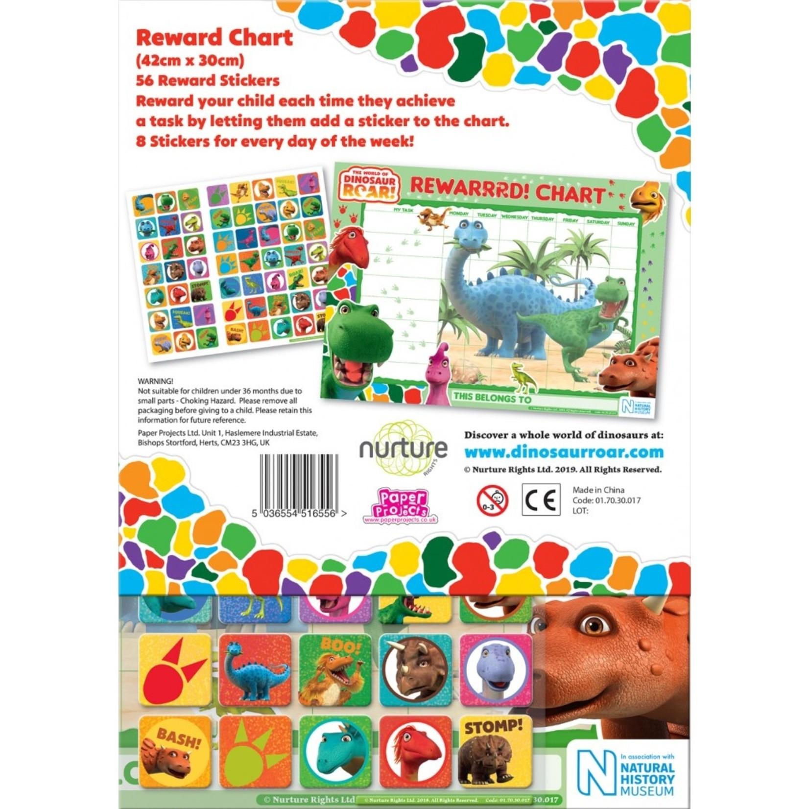 Paper Projects Dinosaurus Beloningskaart (Engels)