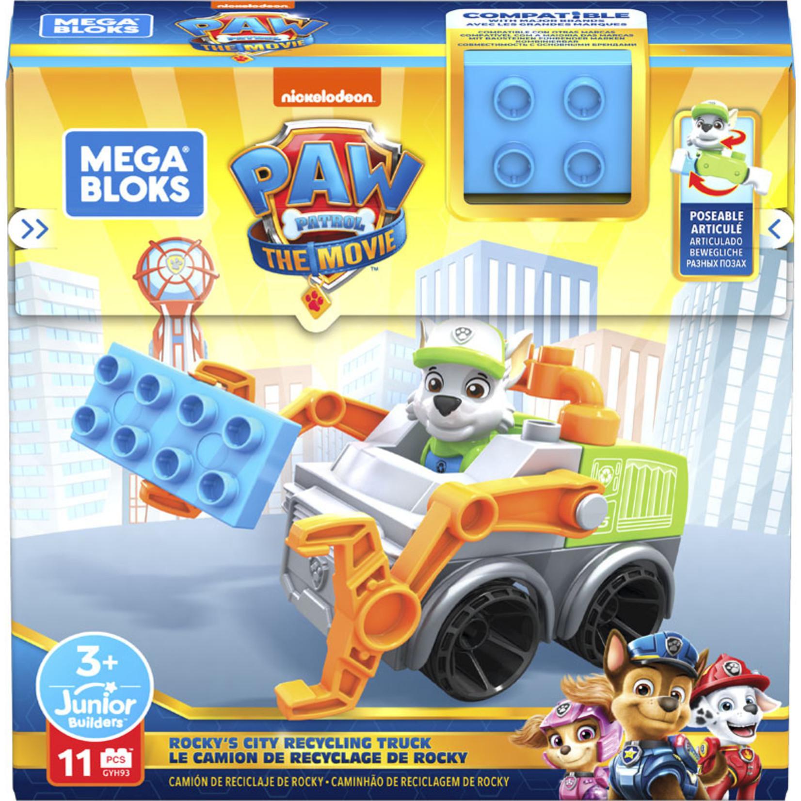Fisher Price The Movie - Paw Patrol Mega Bloks Rocky's Vuilniswagen