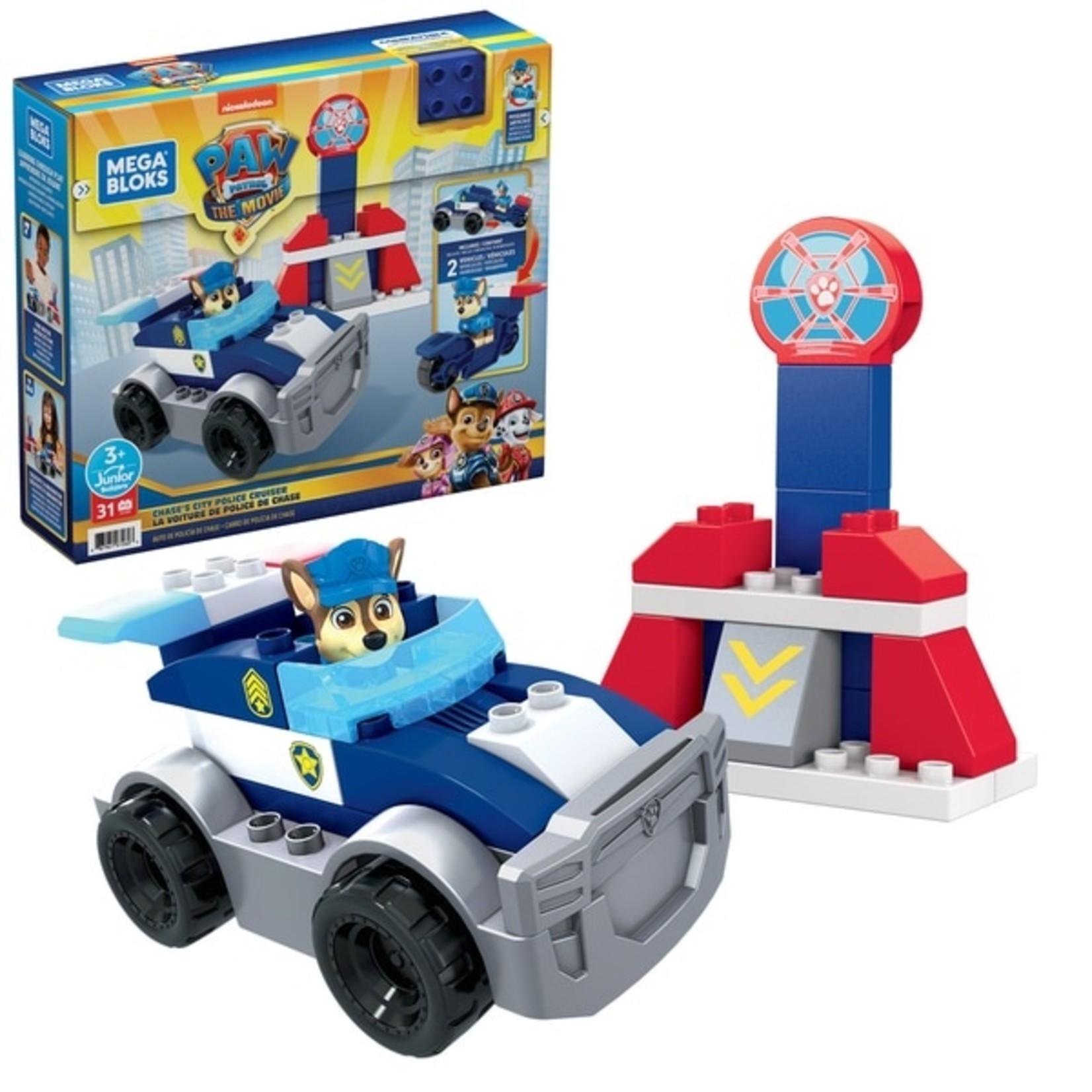 Fisher Price The Movie-Paw Patrol Mega Bloks Chase's Politieauto
