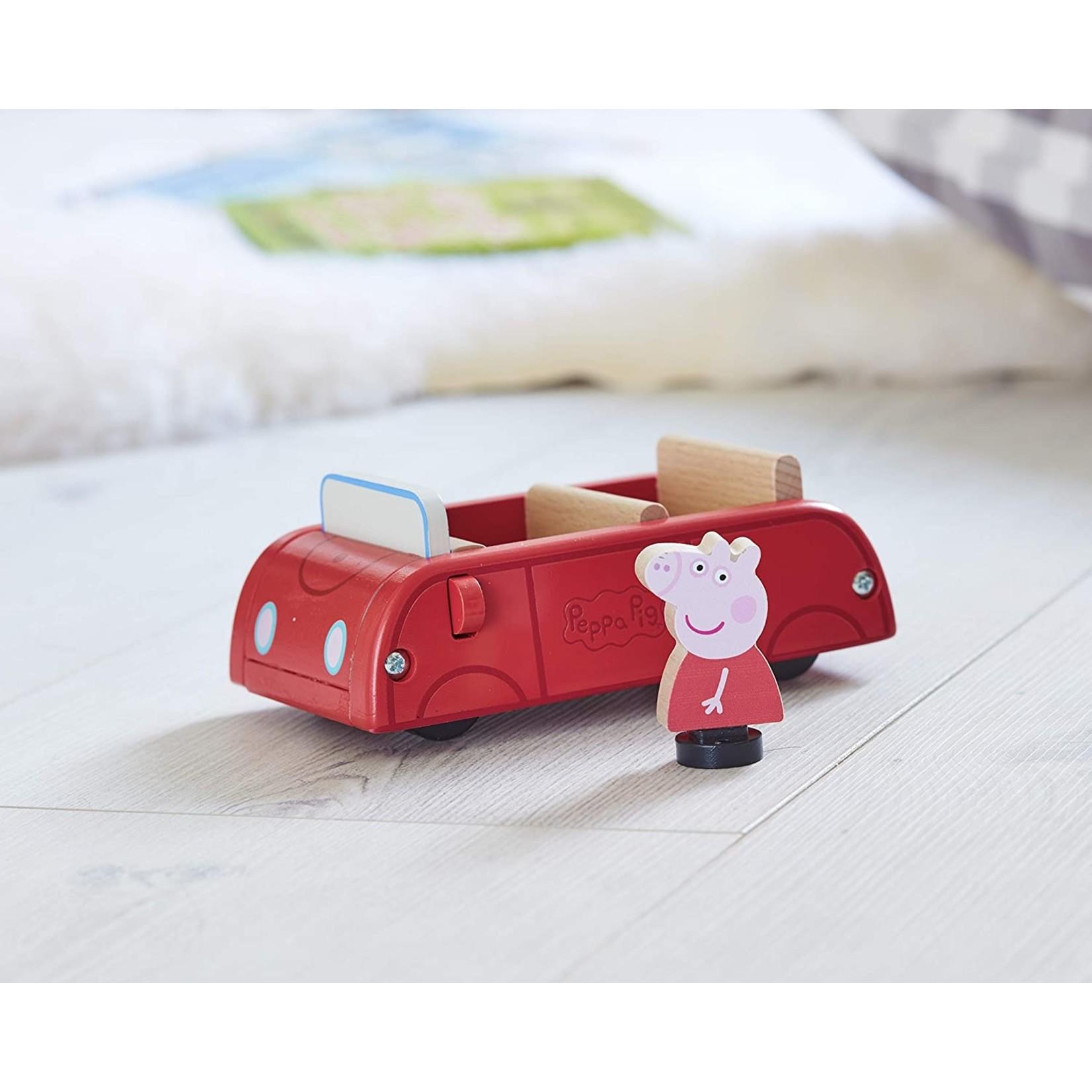 Peppa Peppa Pig's Houten Auto