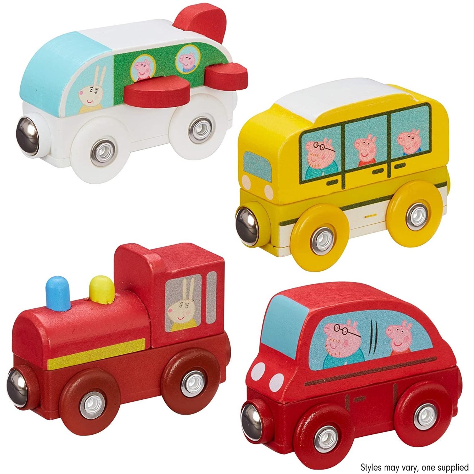 Peppa Peppa Pig Houten Trein - Auto