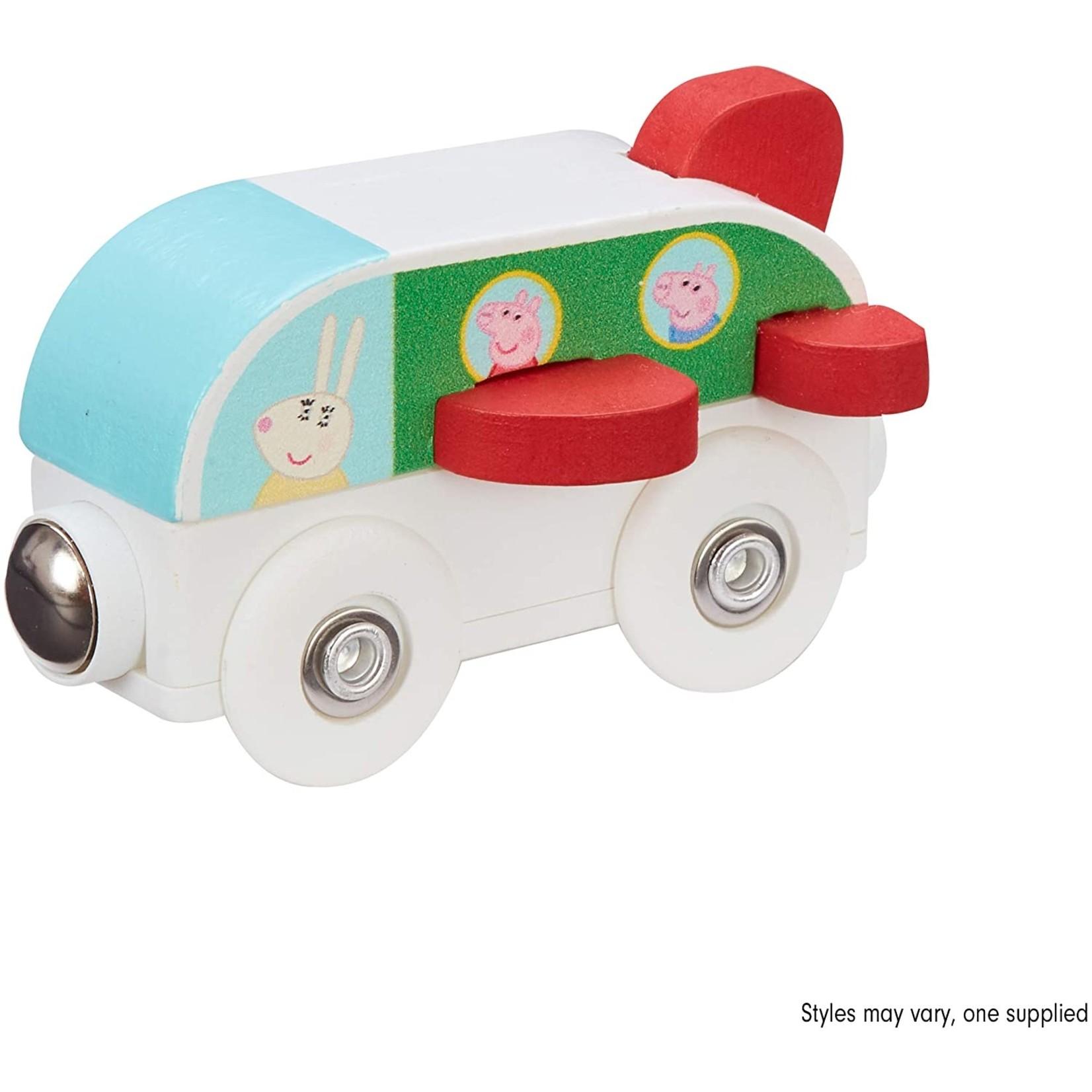 Peppa Peppa Pig Houten Trein - Vliegtuig