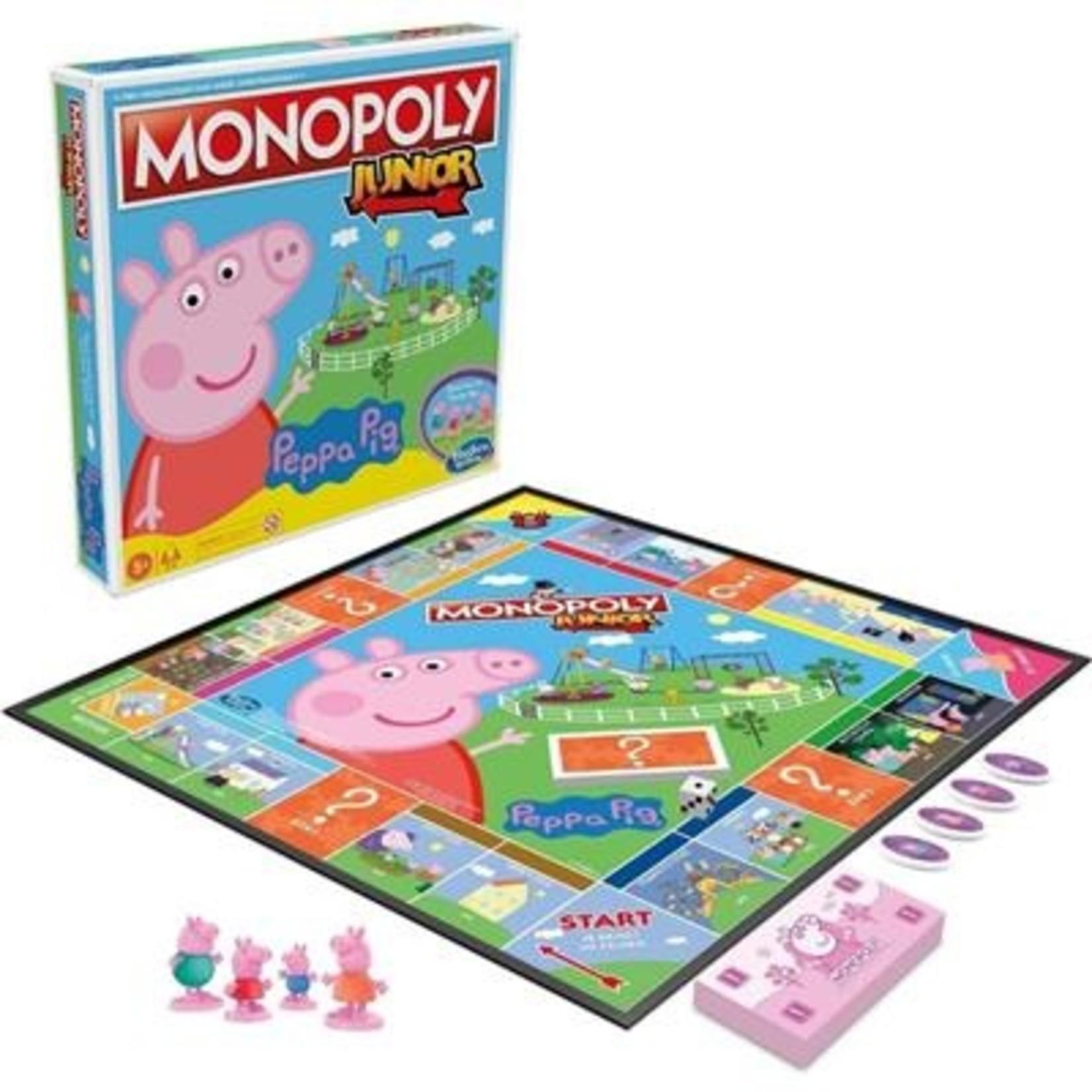 Hasbro Peppa Pig Monopoly Junior Spel
