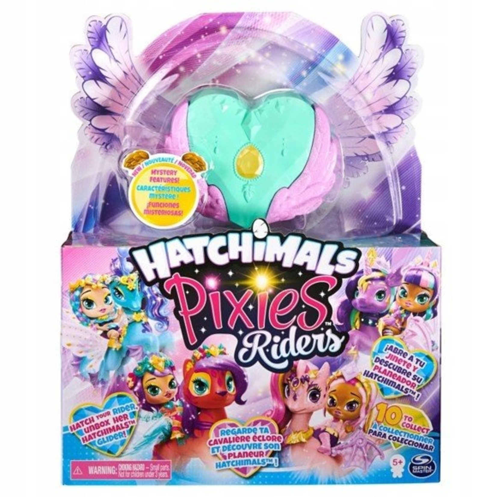 Spin Master Hatchimals Pixies Riders - Petal Primrose