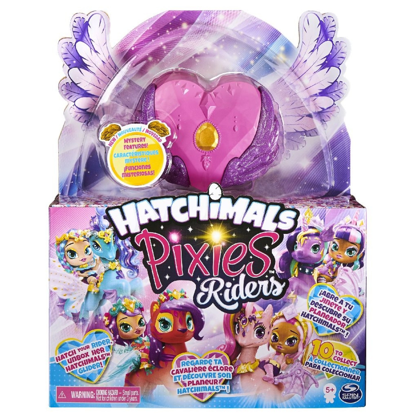 Spin Master Hatchimals Pixies Riders - Crystal Charlotte