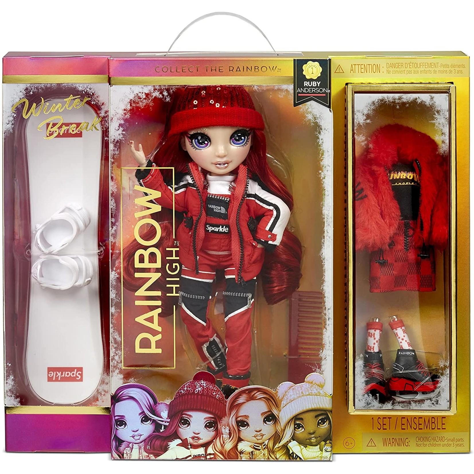 MGA Entertainment Rainbow High Winterbreak Doll - Ruby Anderson