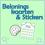 Beloningskaarten & Stickers