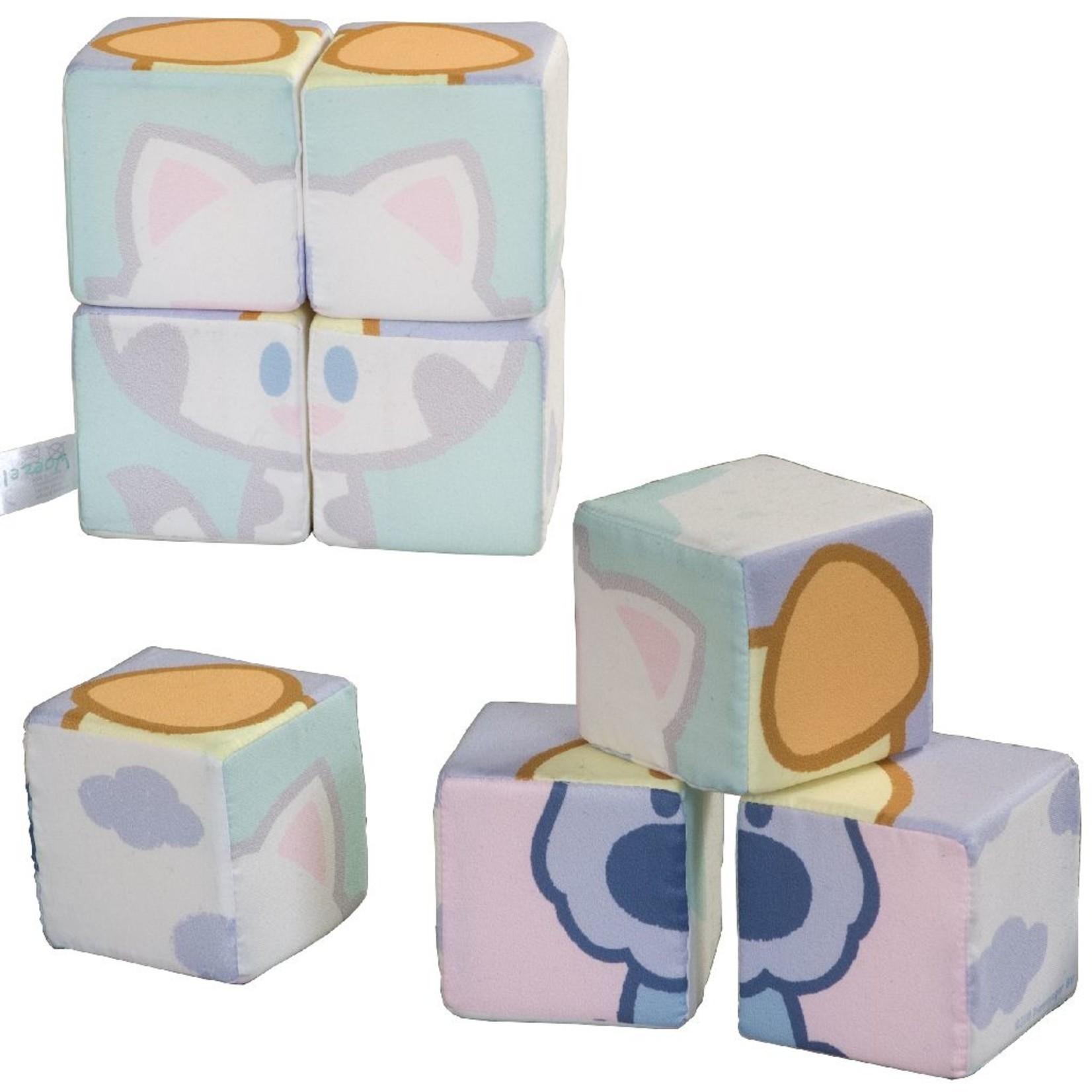 Woezel en Pip Stoffen Blokken