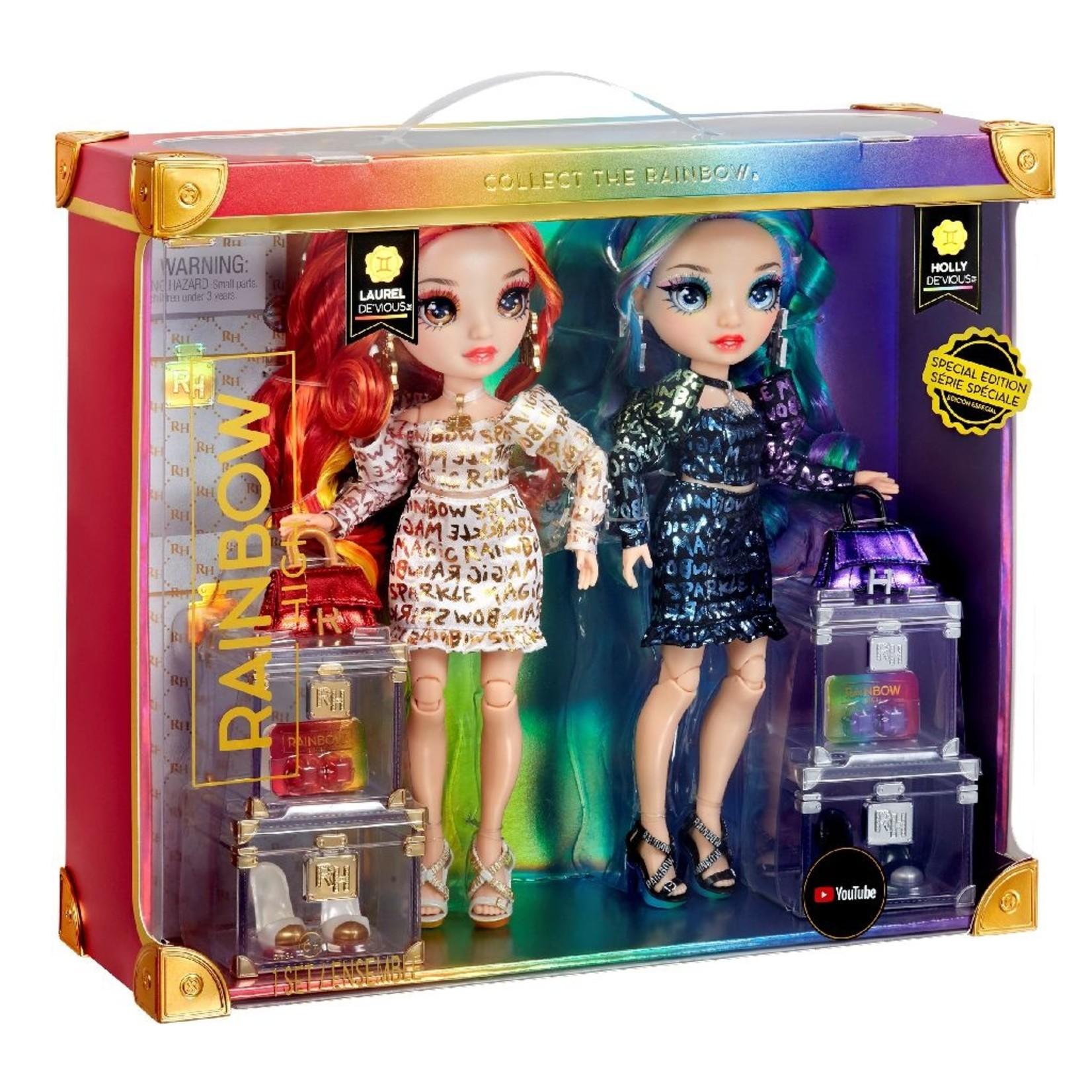 MGA Entertainment Rainbow High Twins