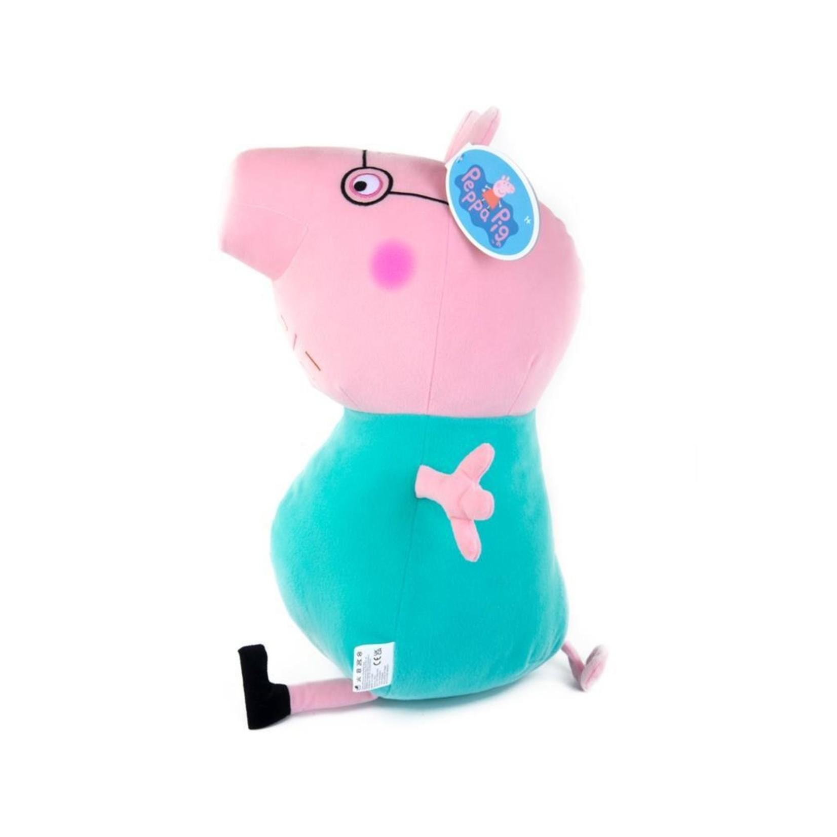 Peppa Peppa Knuffel Papa Pig 50 cm