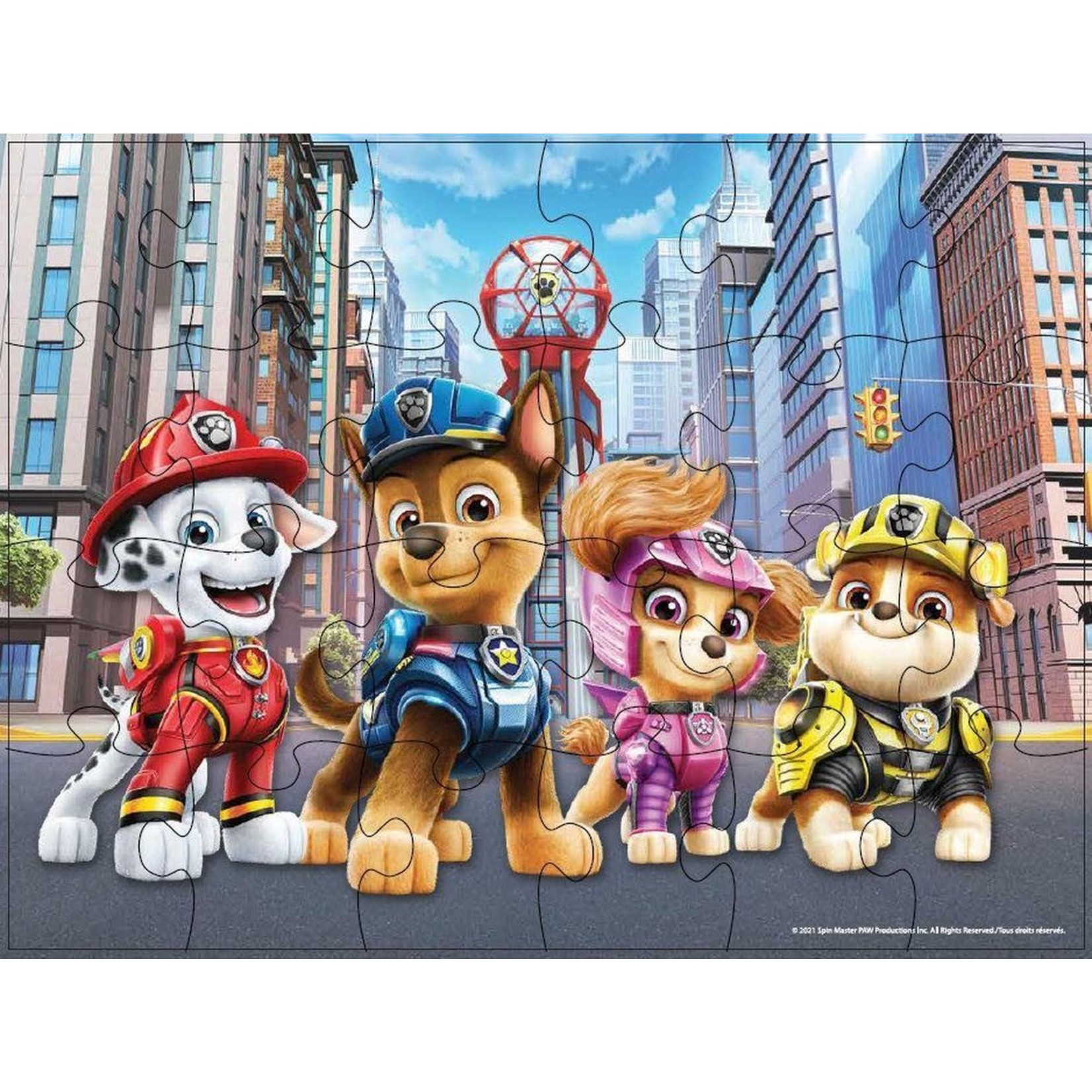 Spin Master Paw Patrol The Movie Houten Puzzel 3 Pack
