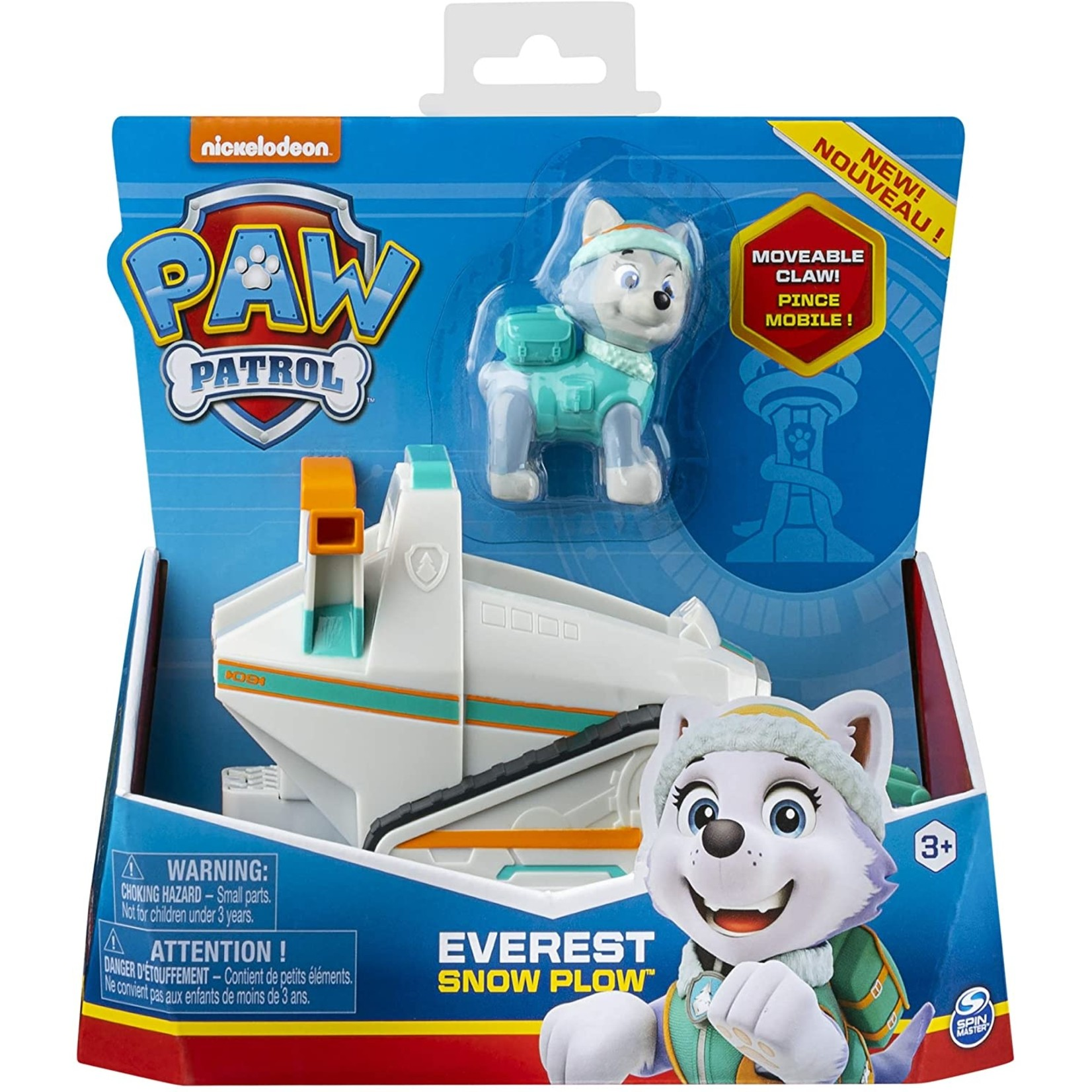 Spin Master Paw Patrol Everest + Ryder + Tracker