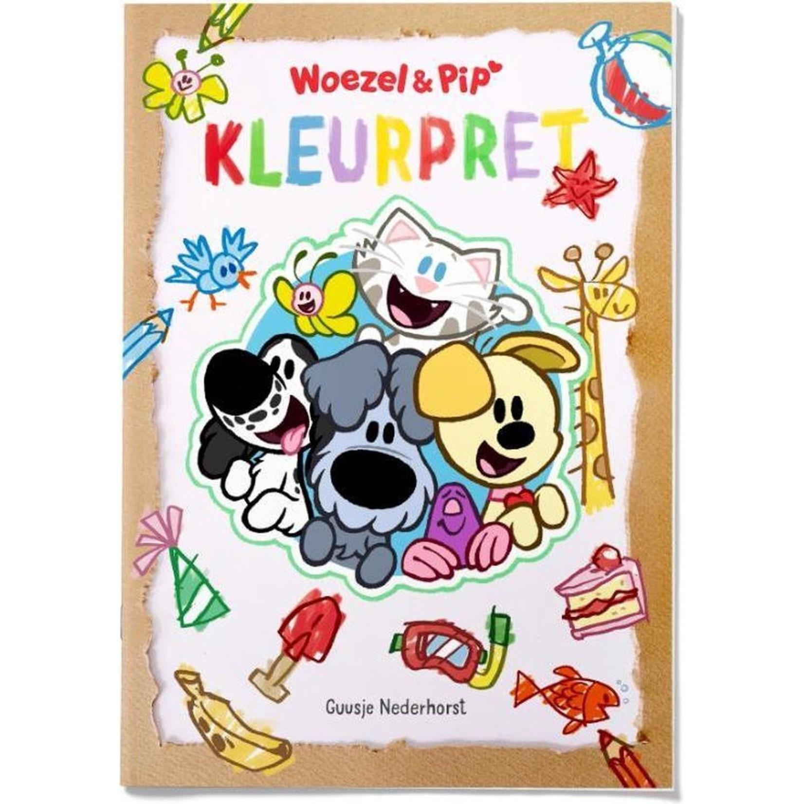 Woezel en Pip Kleurboek