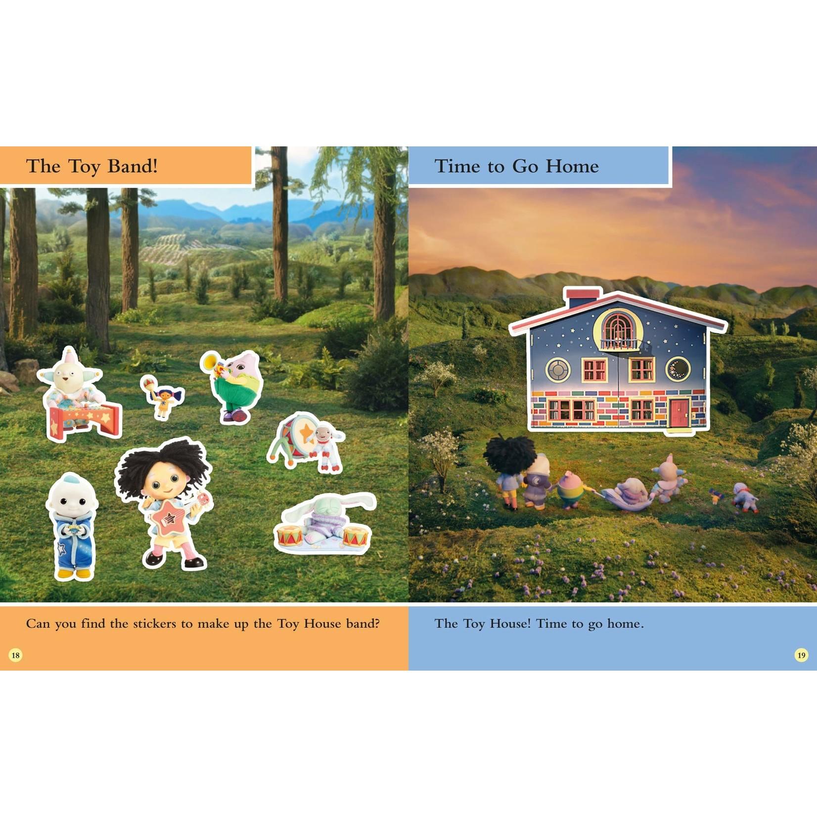 Scholastic Maan en Ik Stickerboek