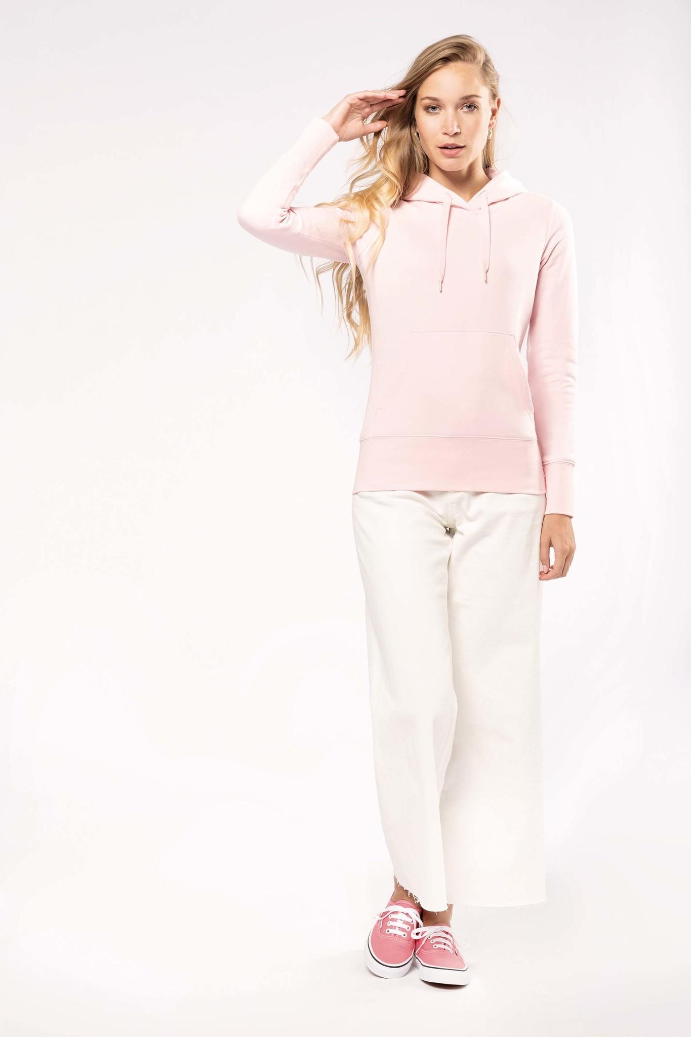 Eco-Friendly hoodie Dames Oxford-Grey