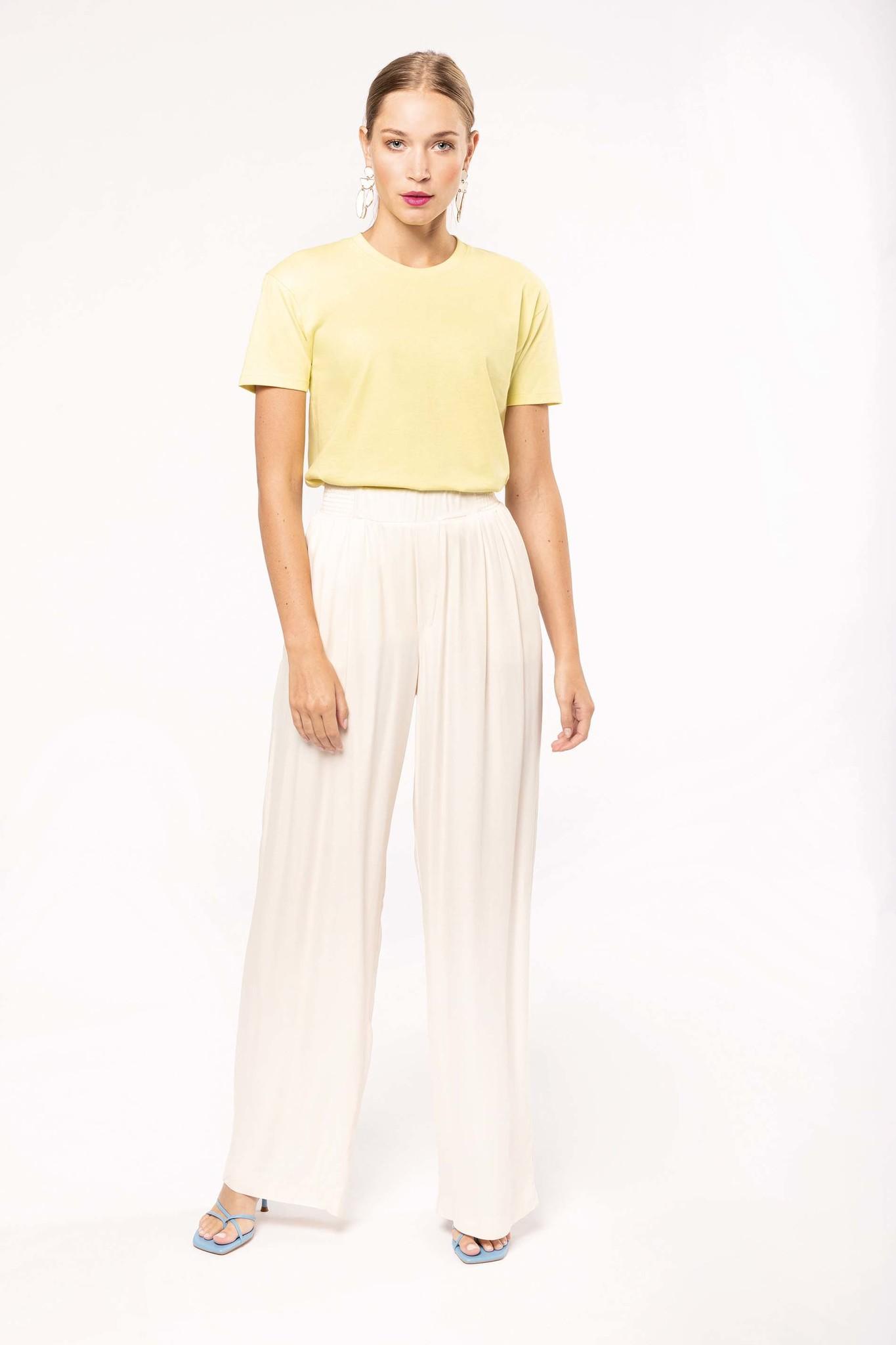 Eco-Friendly Unisex T-shirt - Lemon Yellow