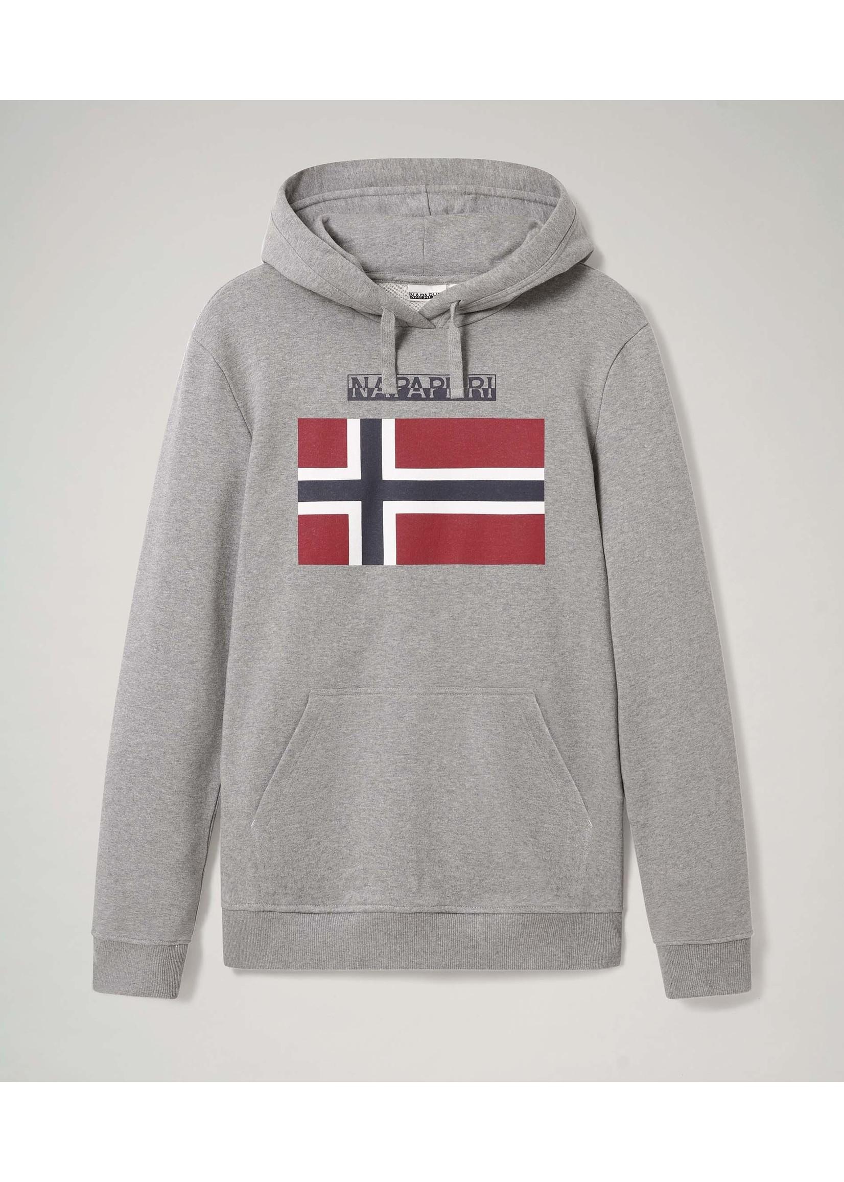NP0A4EZS - Bellyn H sweater met capuchon Medium Grey