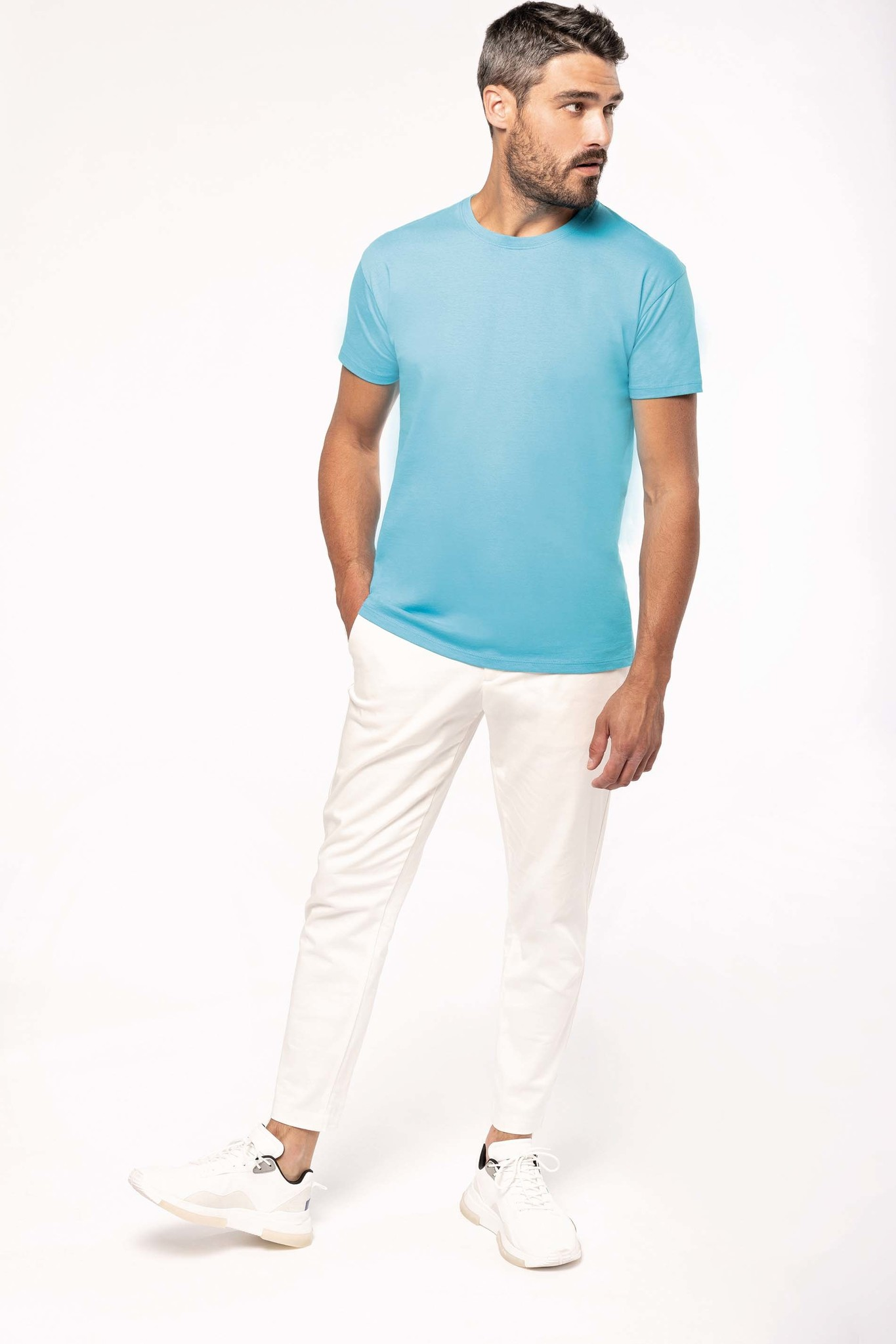 Eco-Friendly Unisex T-shirt -Lightsand