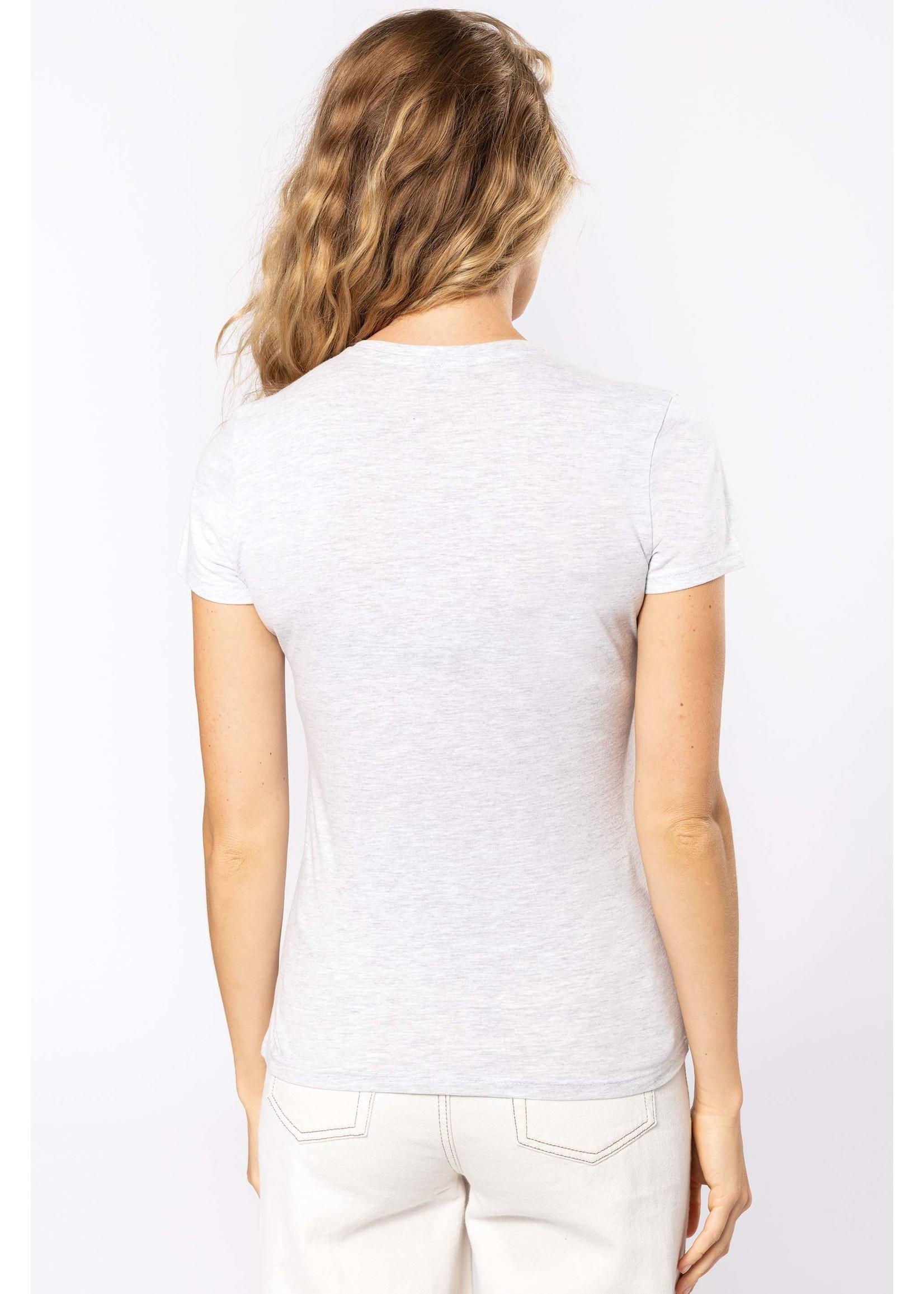 Eco-Friendly Dames T-shirt Ash-Heather