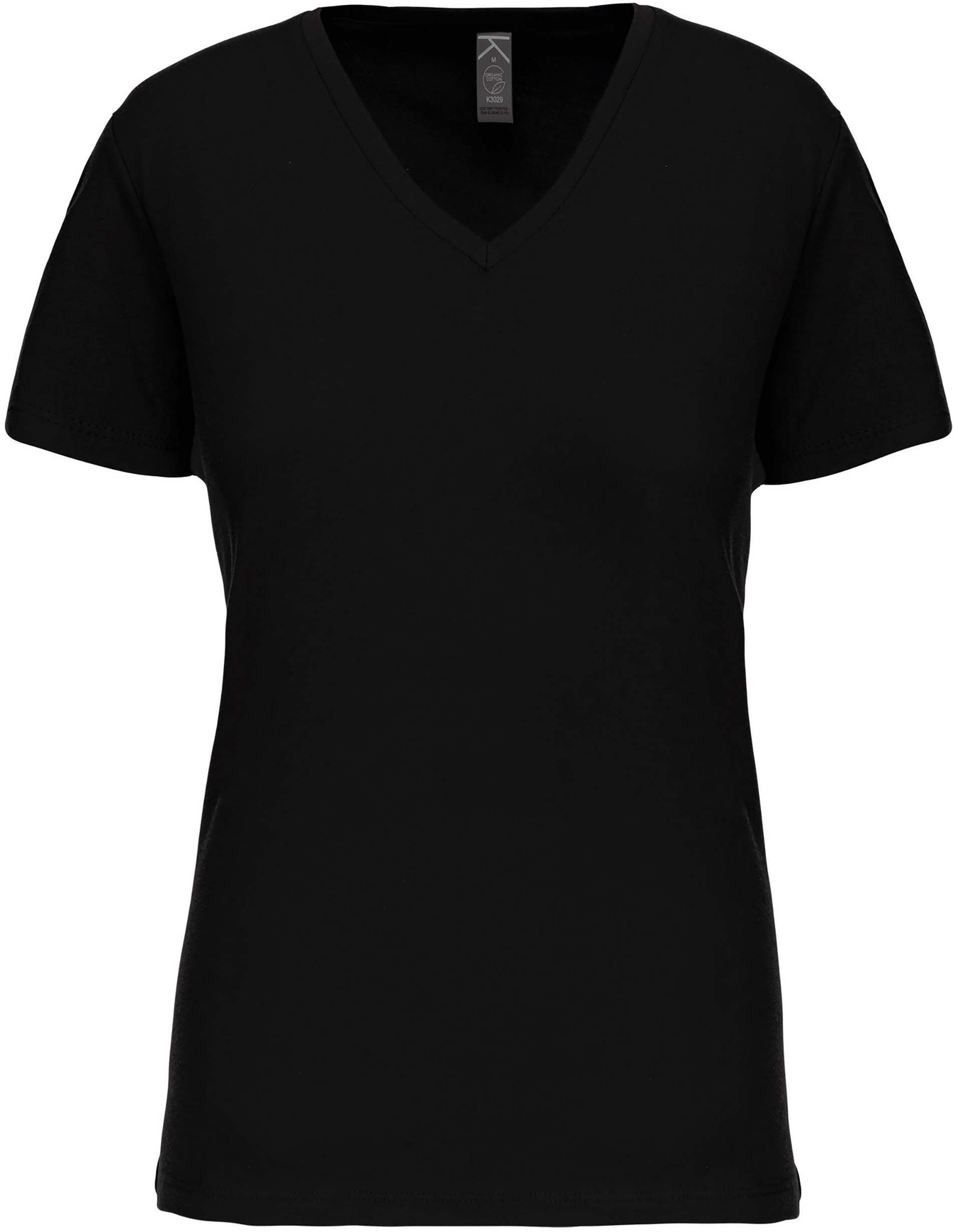 Eco-Friendly Dames T-shirt Black