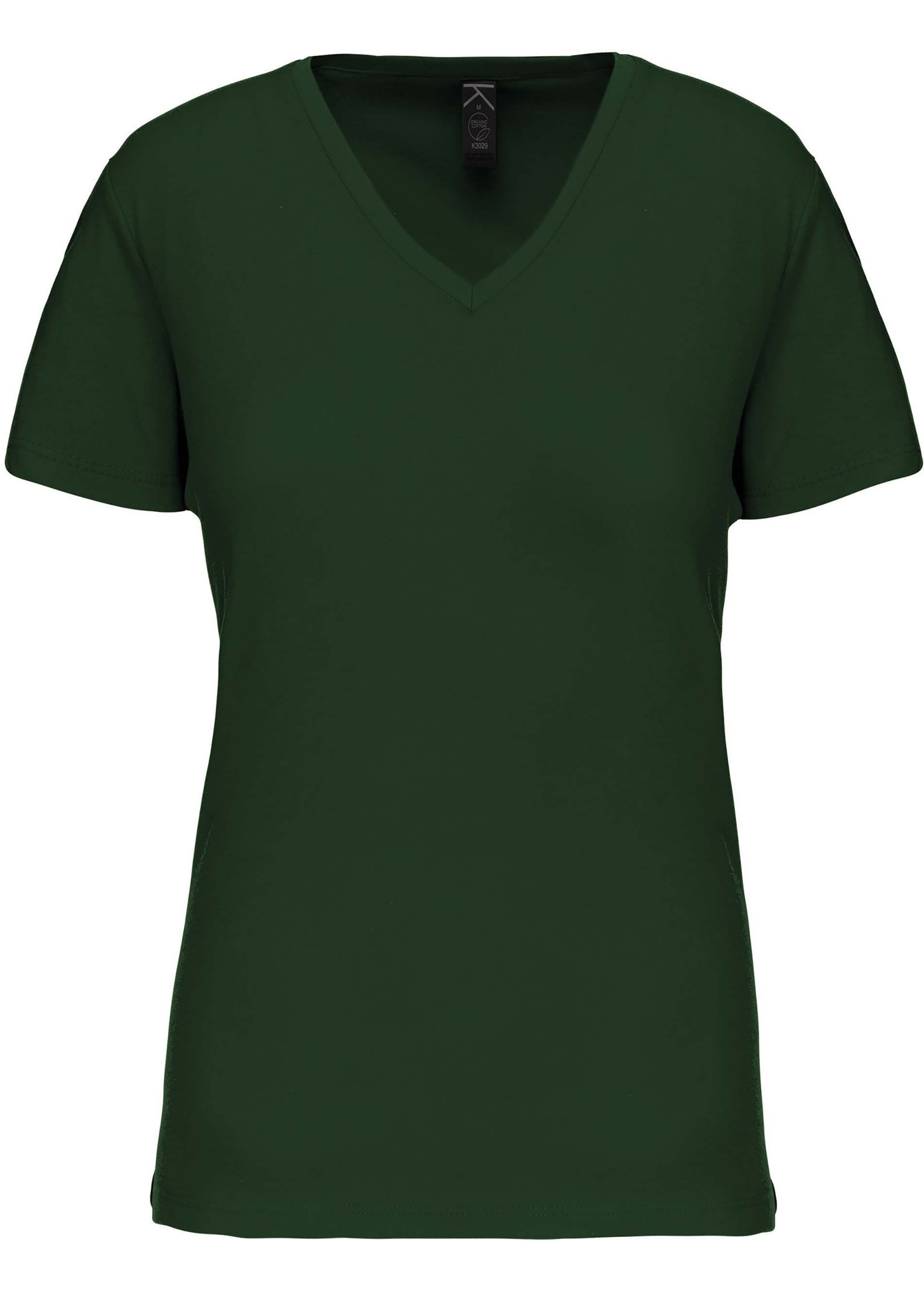 Eco-Friendly Dames T-shirt Forest-Green