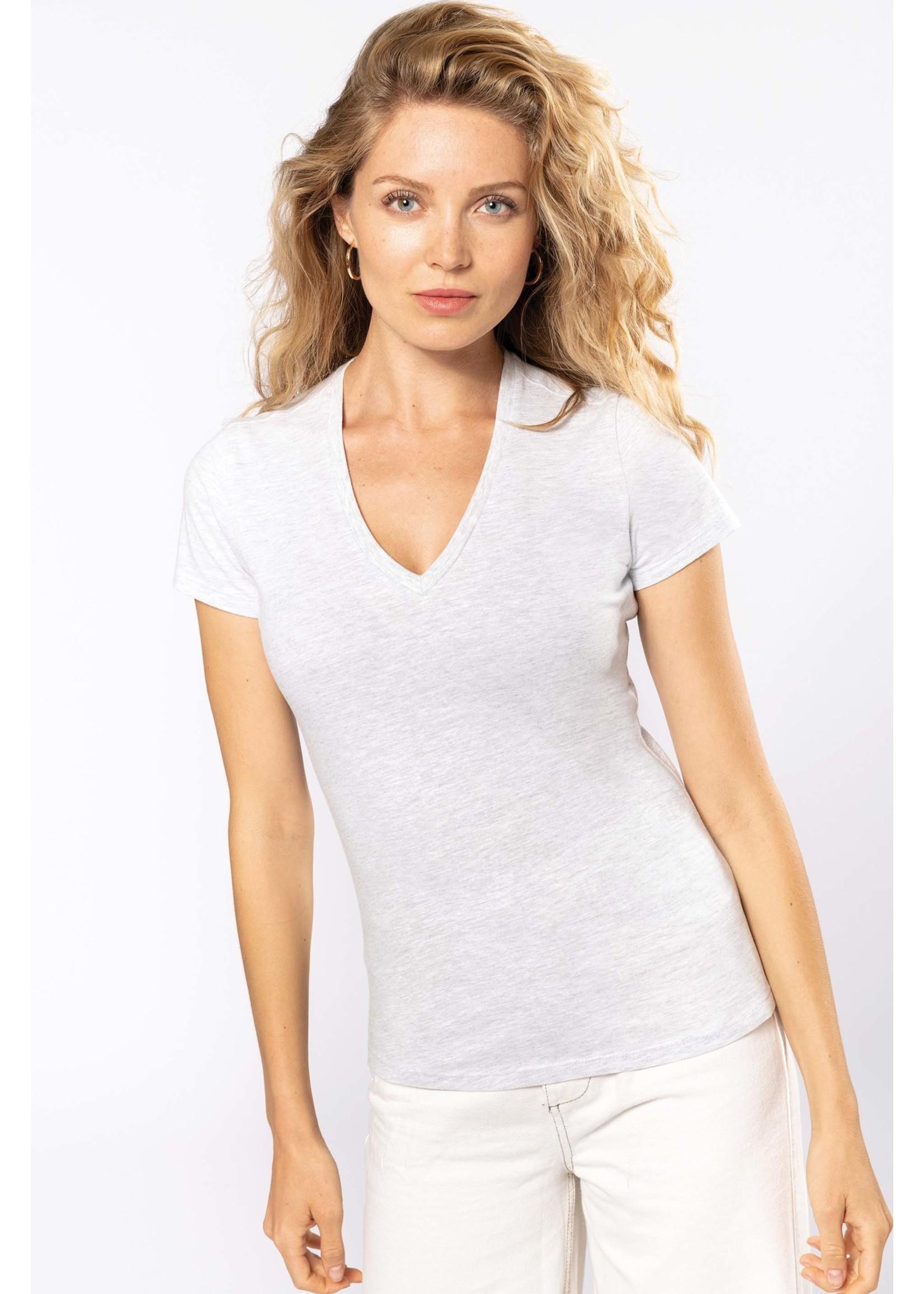 Eco-Friendly Dames T-shirt Light-Royalblue