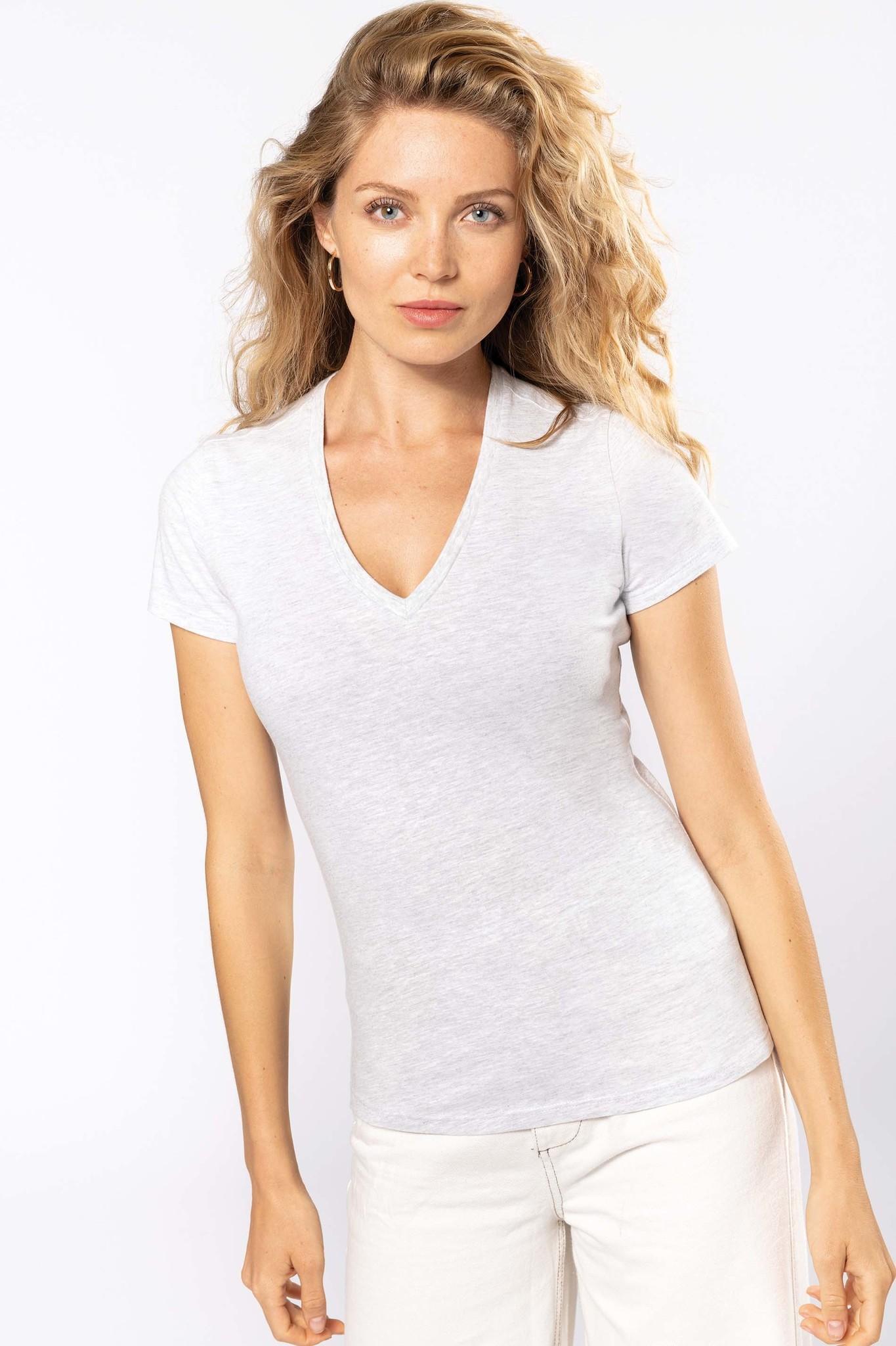 Eco-Friendly Dames T-shirt Navy