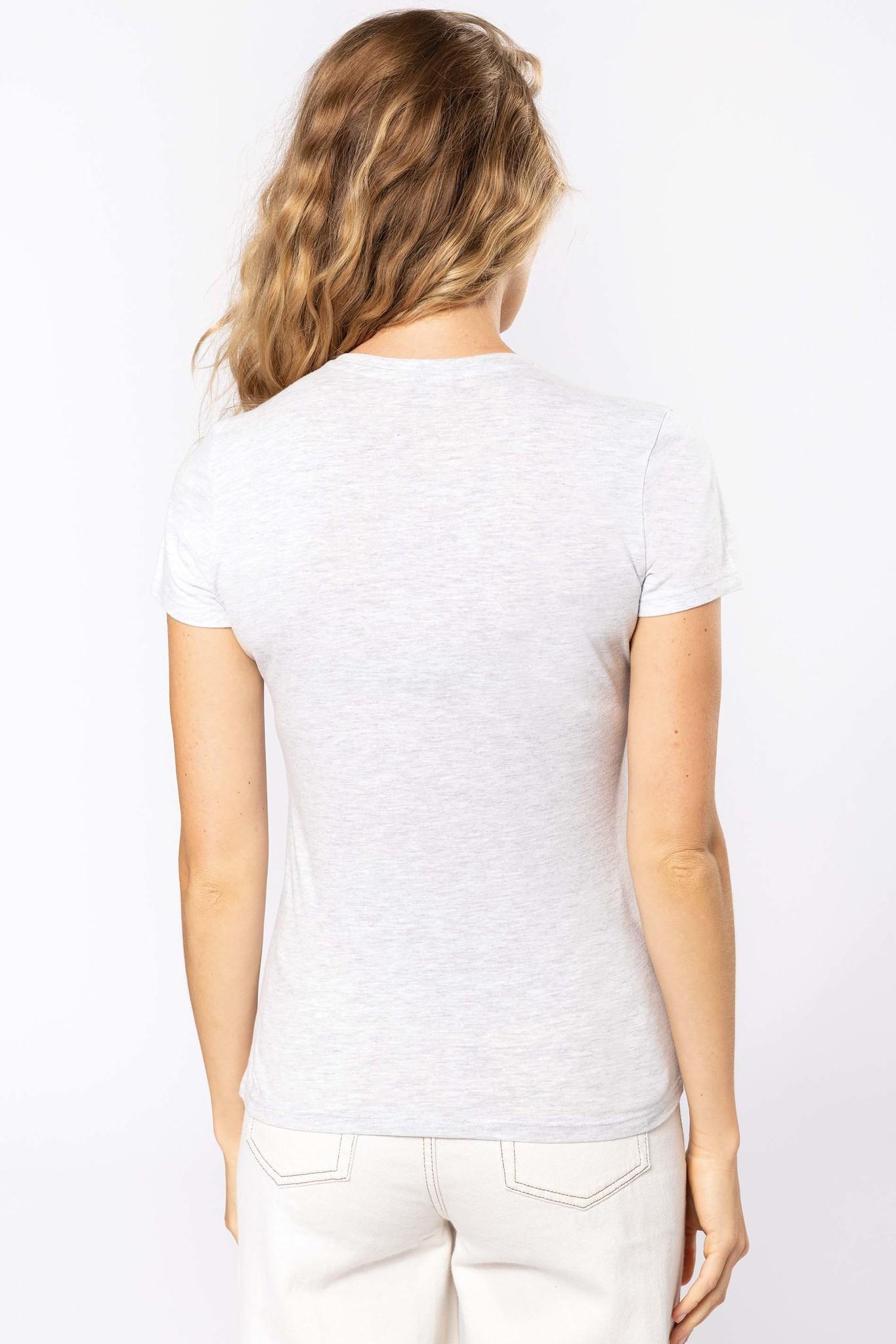 Eco-Friendly Dames T-shirt Oxford-Grey