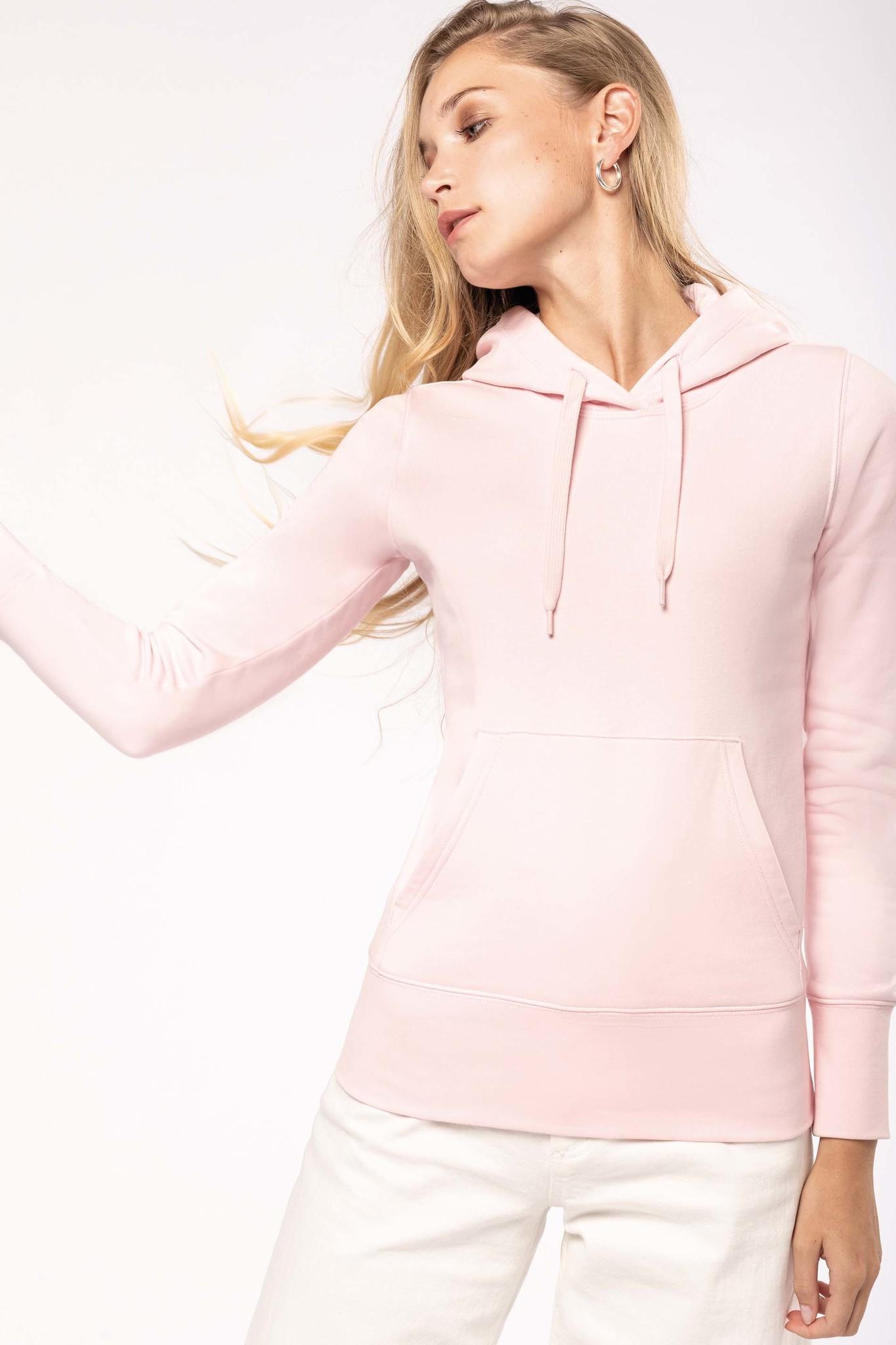 Eco-Friendly hoodie Dames Dark-Grey