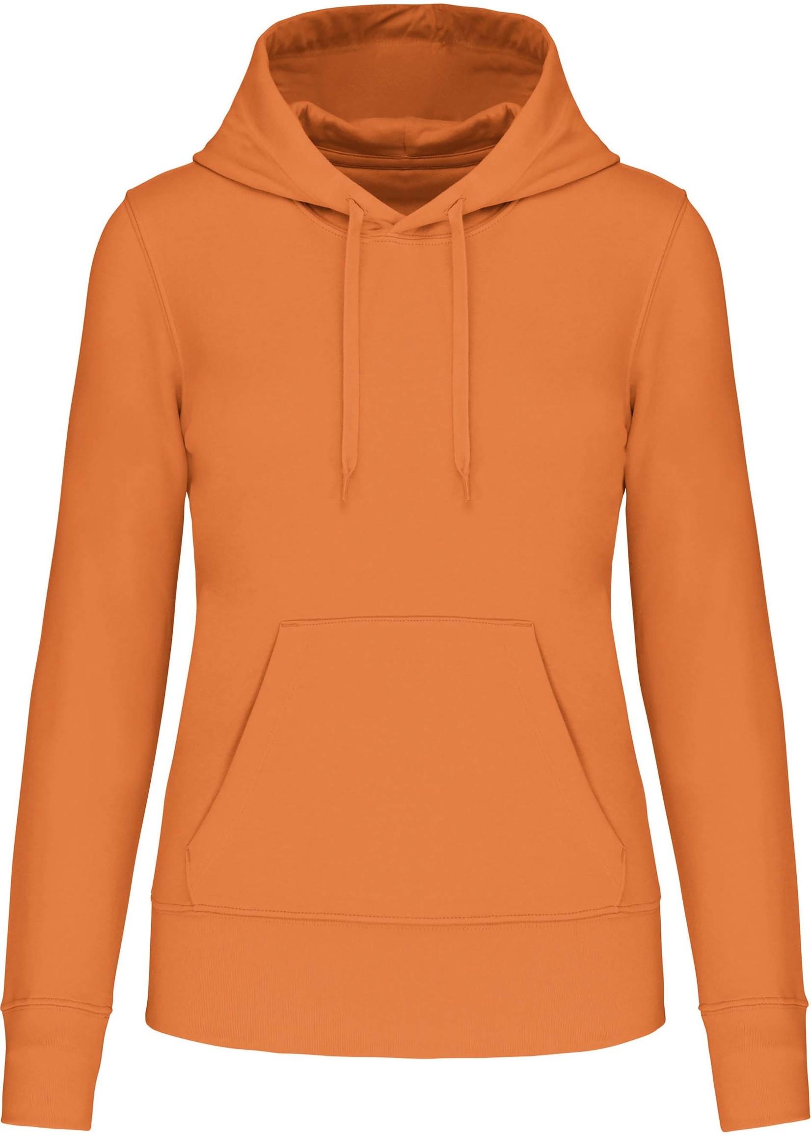 Eco-Friendly hoodie Dames Light-Orange