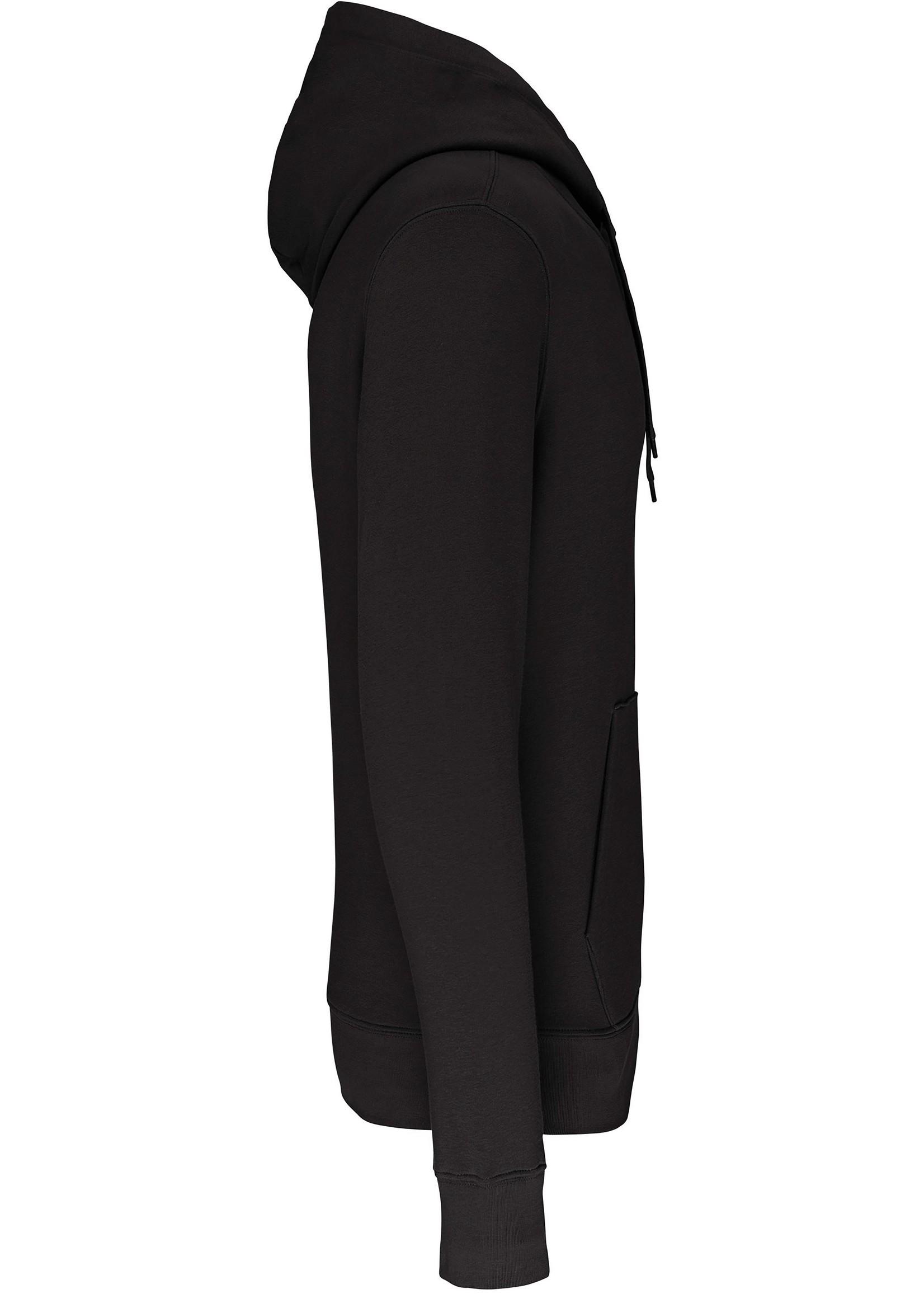 Eco-Friendly Hoodie Uni Black