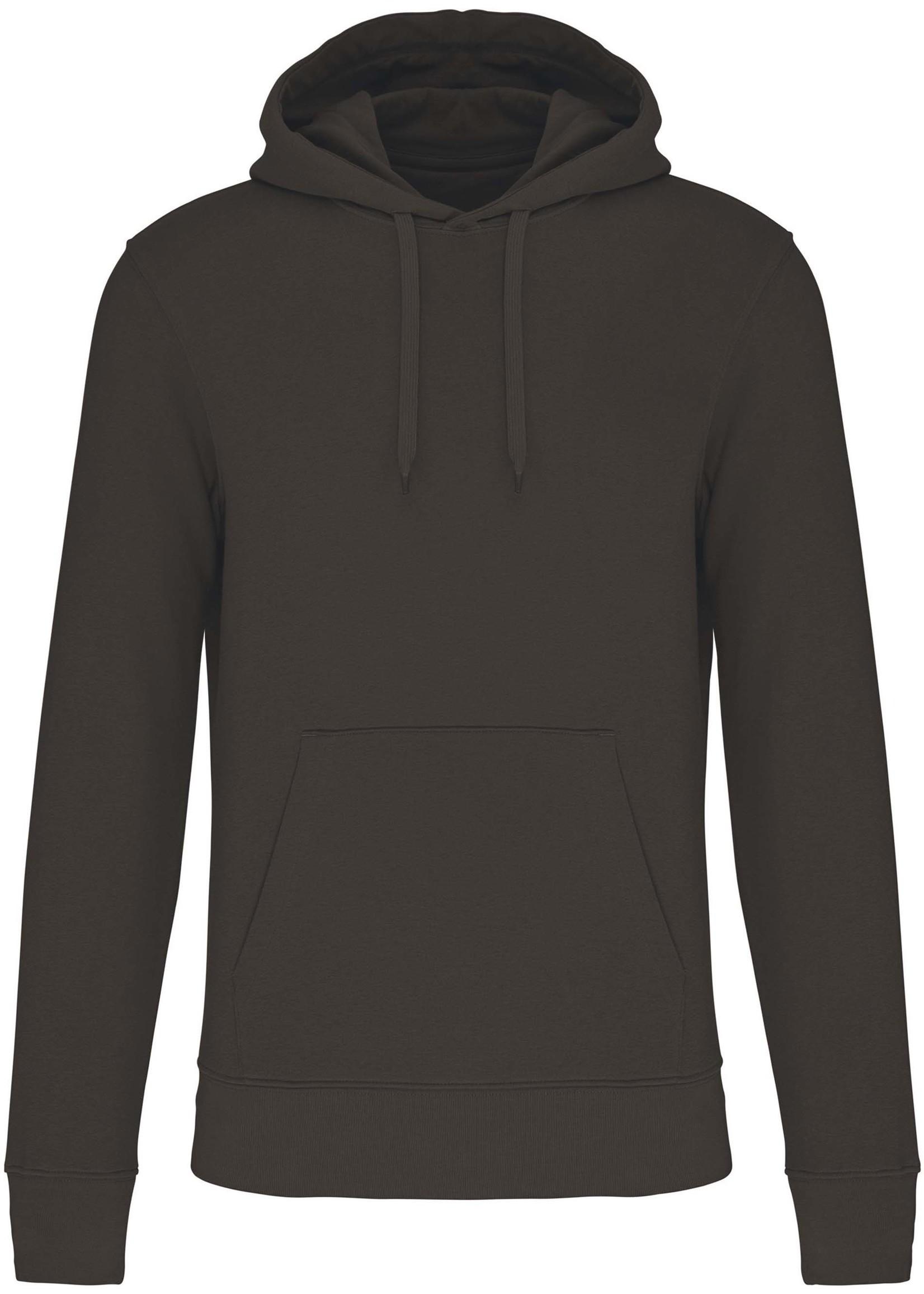 Eco-Friendly Hoodie Uni Dark-Grey