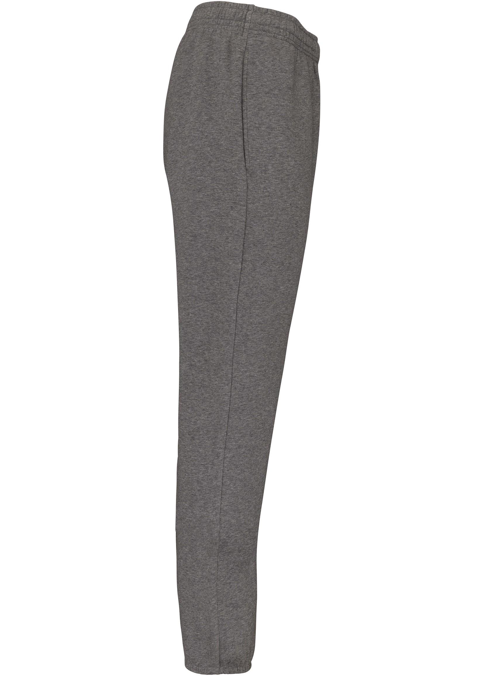 Ecologische uni broek van fleece Grey Gemêleerd