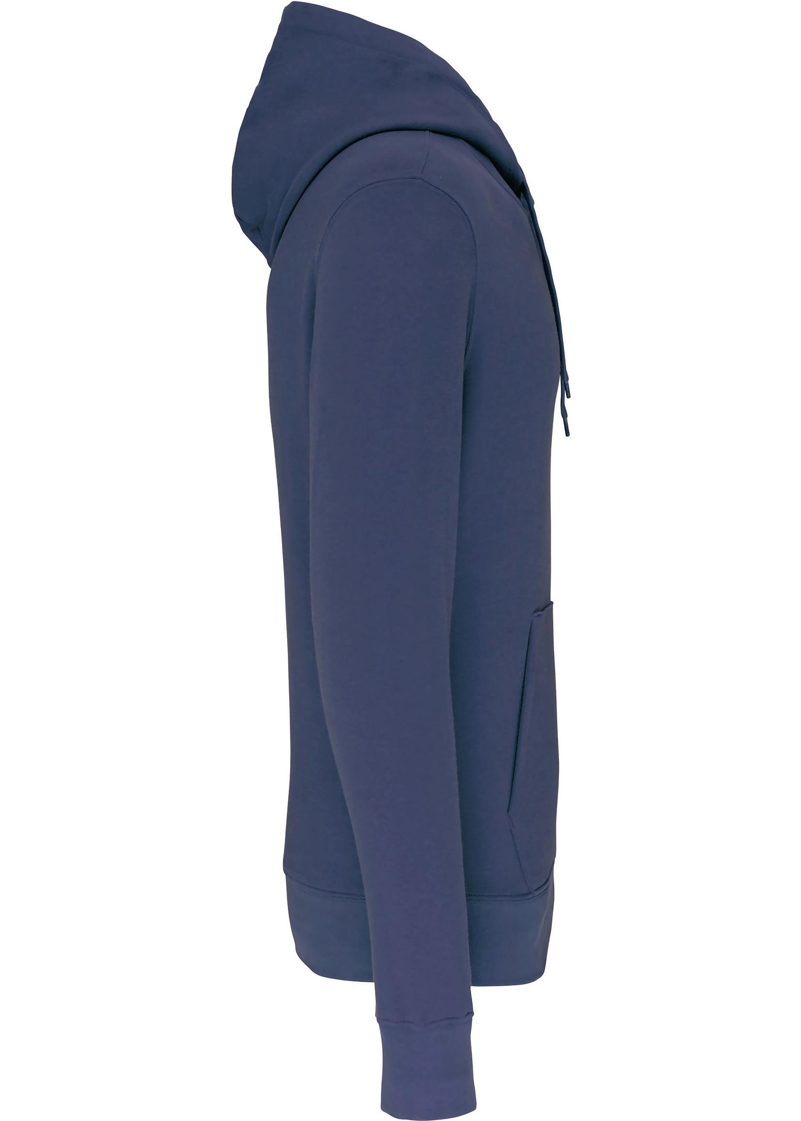 Eco-Friendly Hoodie Uni Deep-Blue
